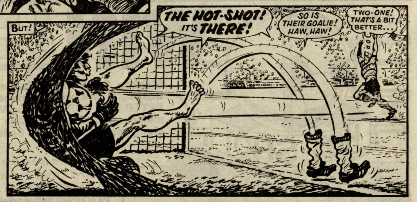 Hot-shot Hamish with Mighty Mouse: Fred Baker (writer), Julio Schiaffino (artist)