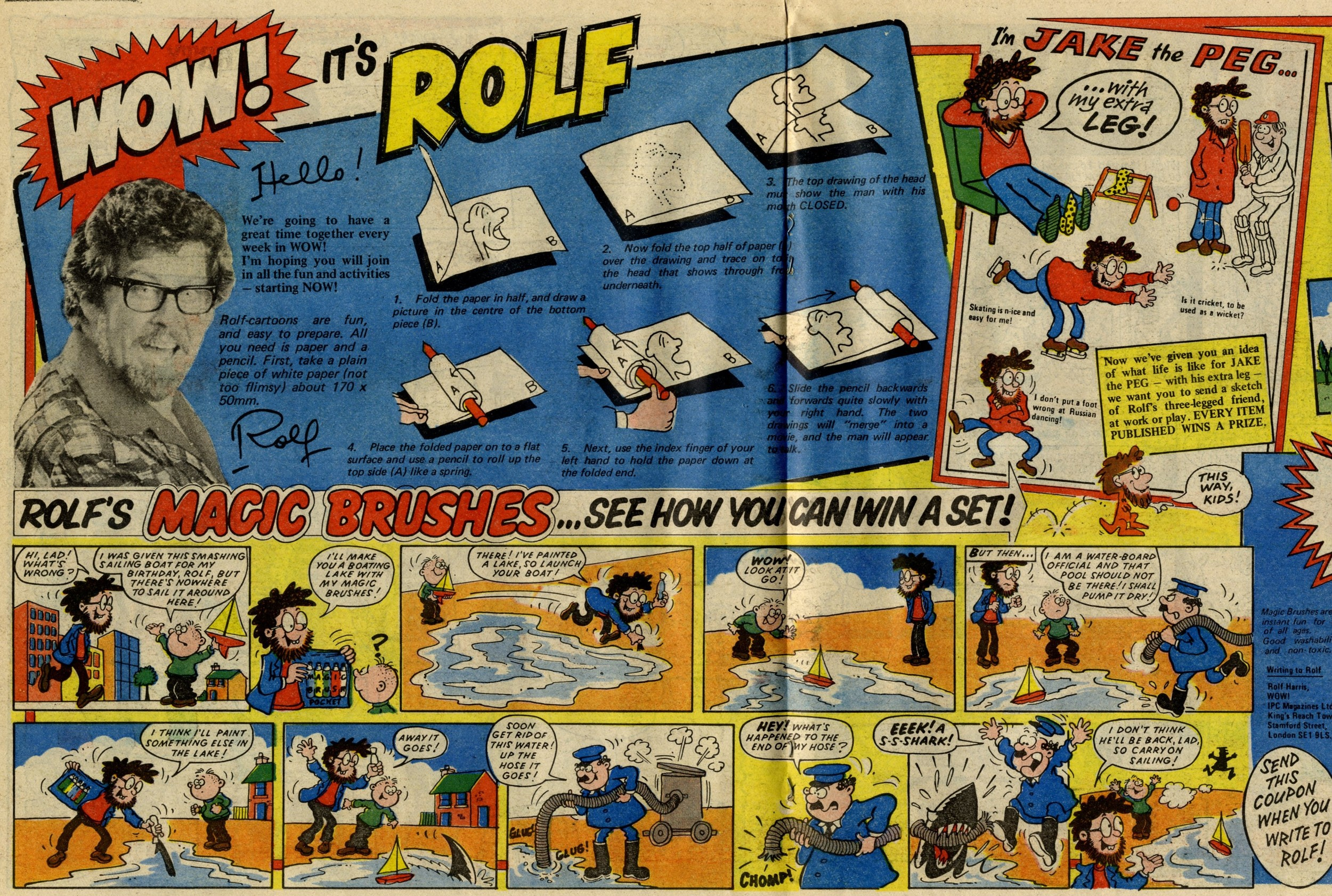 Rolf's Magic Brushes and I'm Jake the Peg: Paul Ailey? (artist)