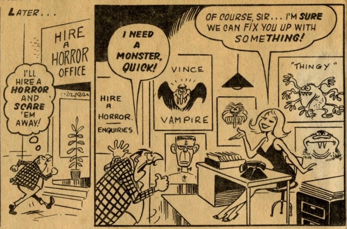 Hire a Horror: Reg Parlett (artist)