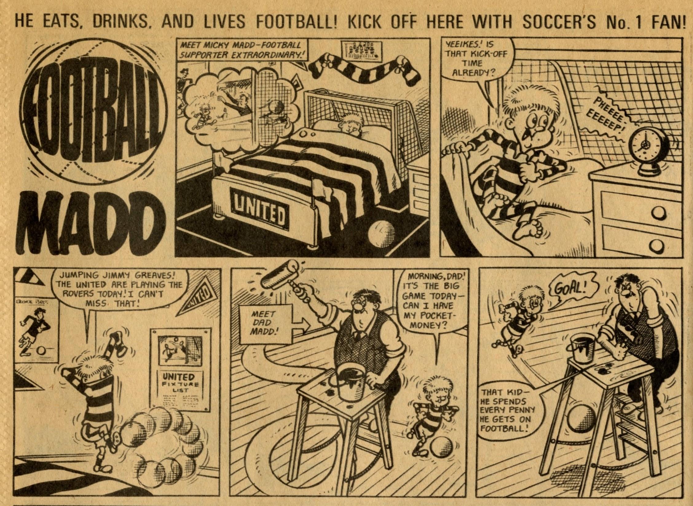 Football Madd: artist unknown