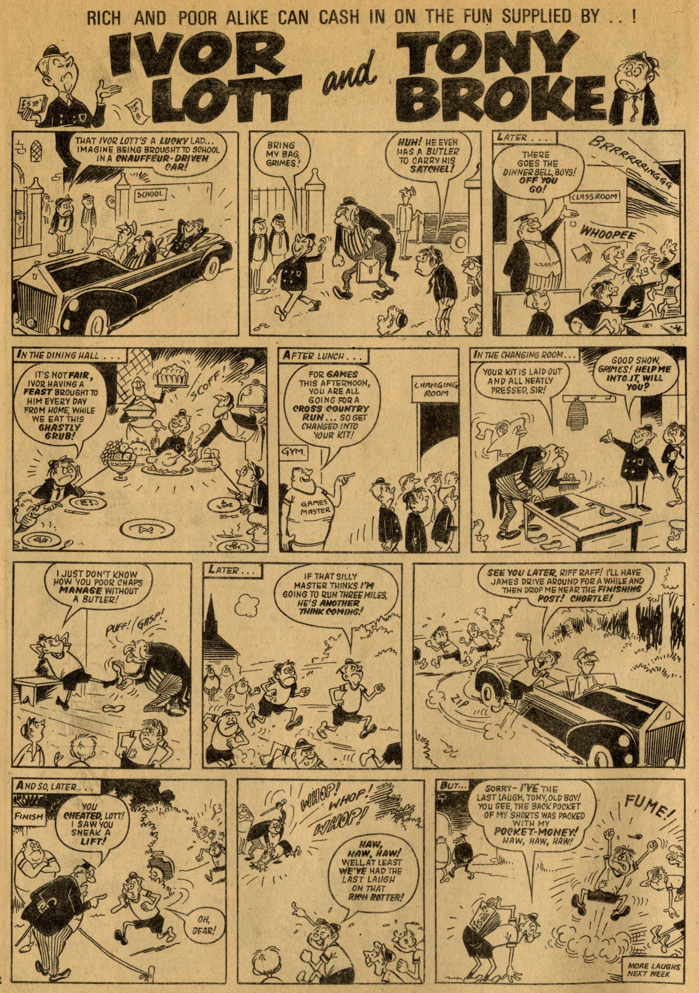 Ivor Lott and Tony Broke: Reg Parlett (artist)