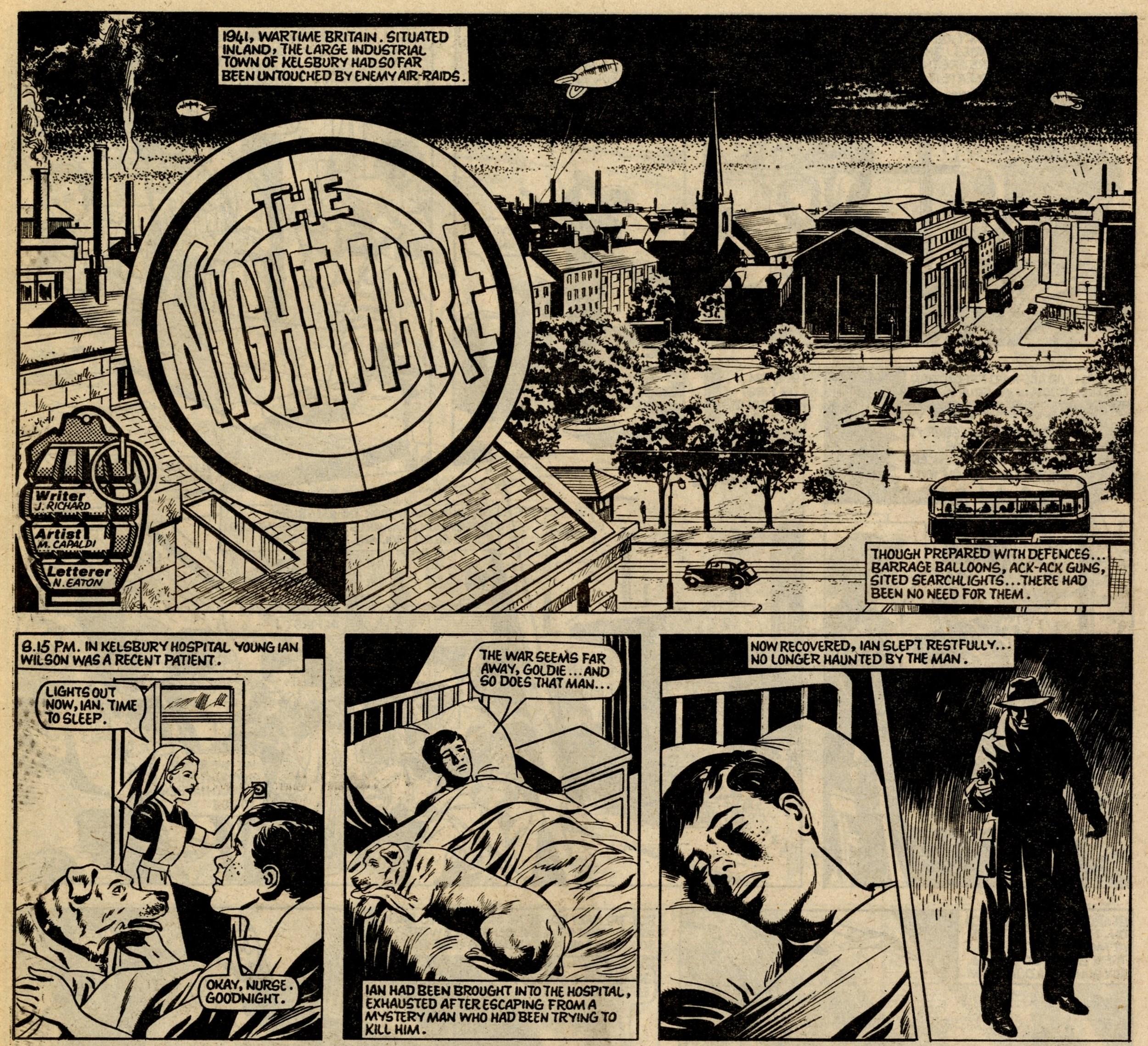 The Nightmare: Terry Magee (writer), Mario Capaldi (artist)