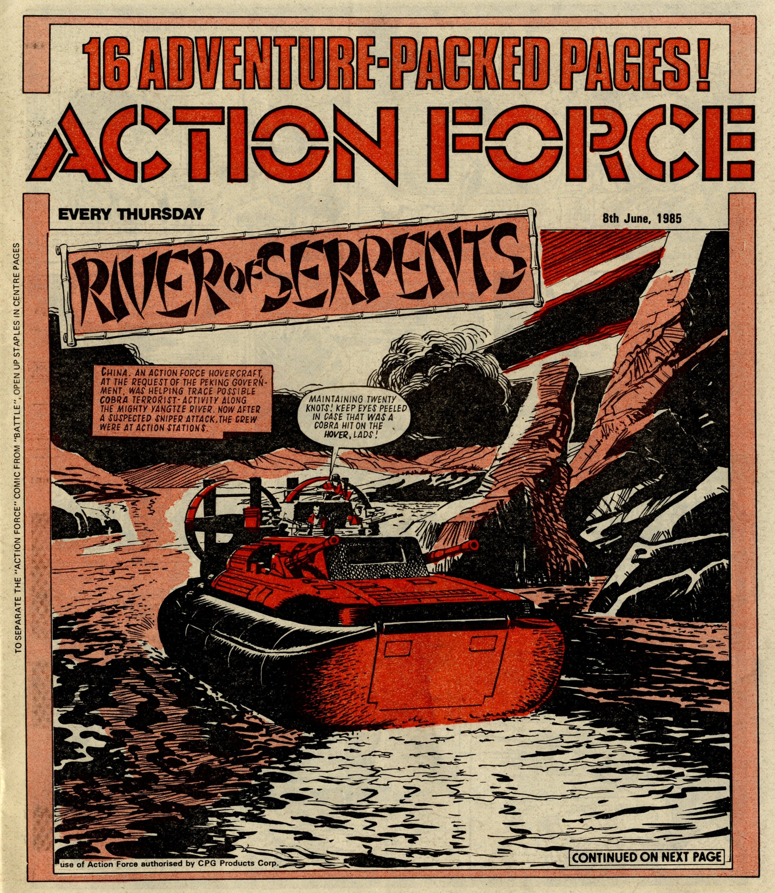 Action Force: River of Serpents: Gerry Finley-Day (writer), Geoff Campion (artist)