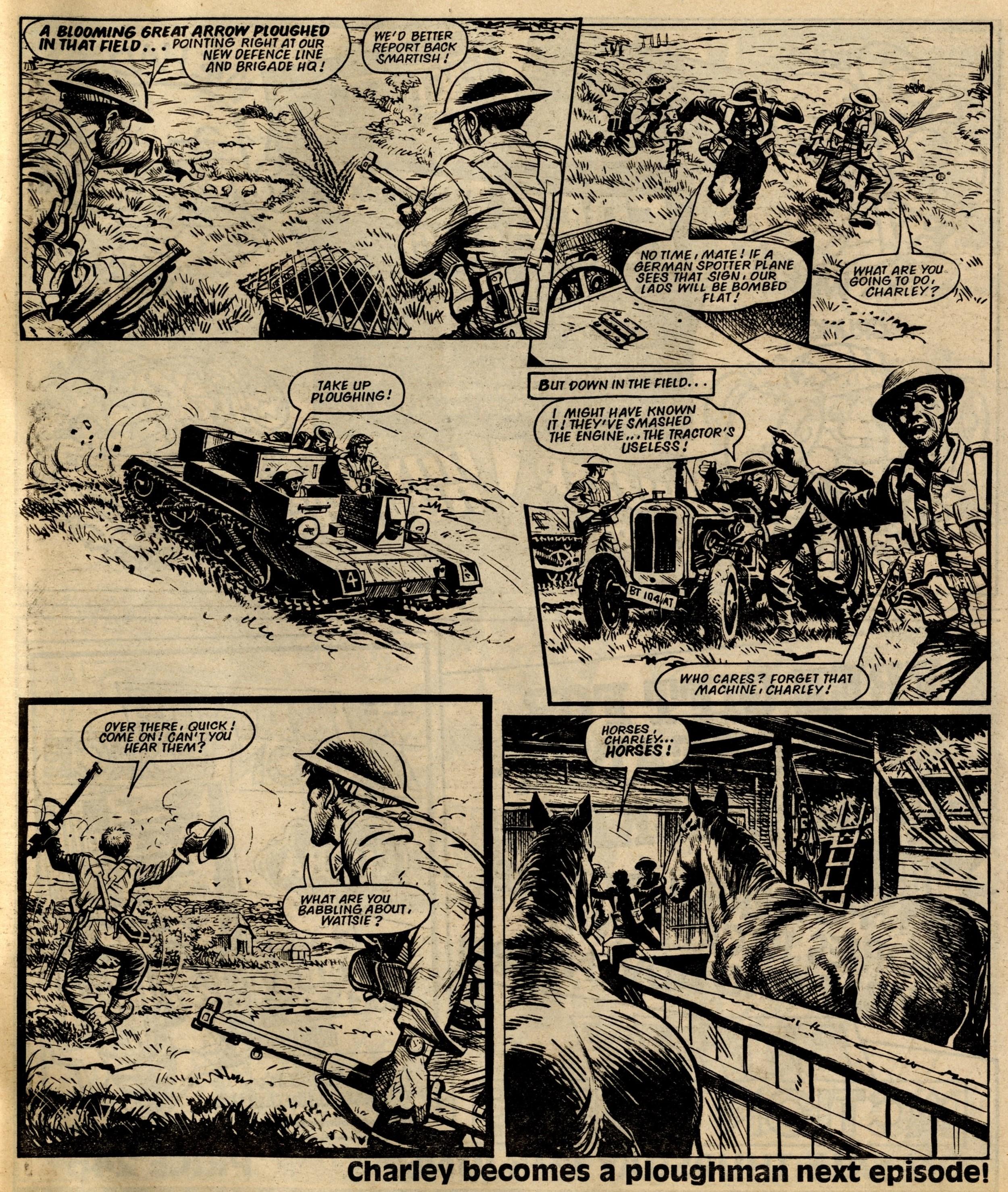 Charley's War: Scott Goodall (writer), Joe Colquhoun (artist)