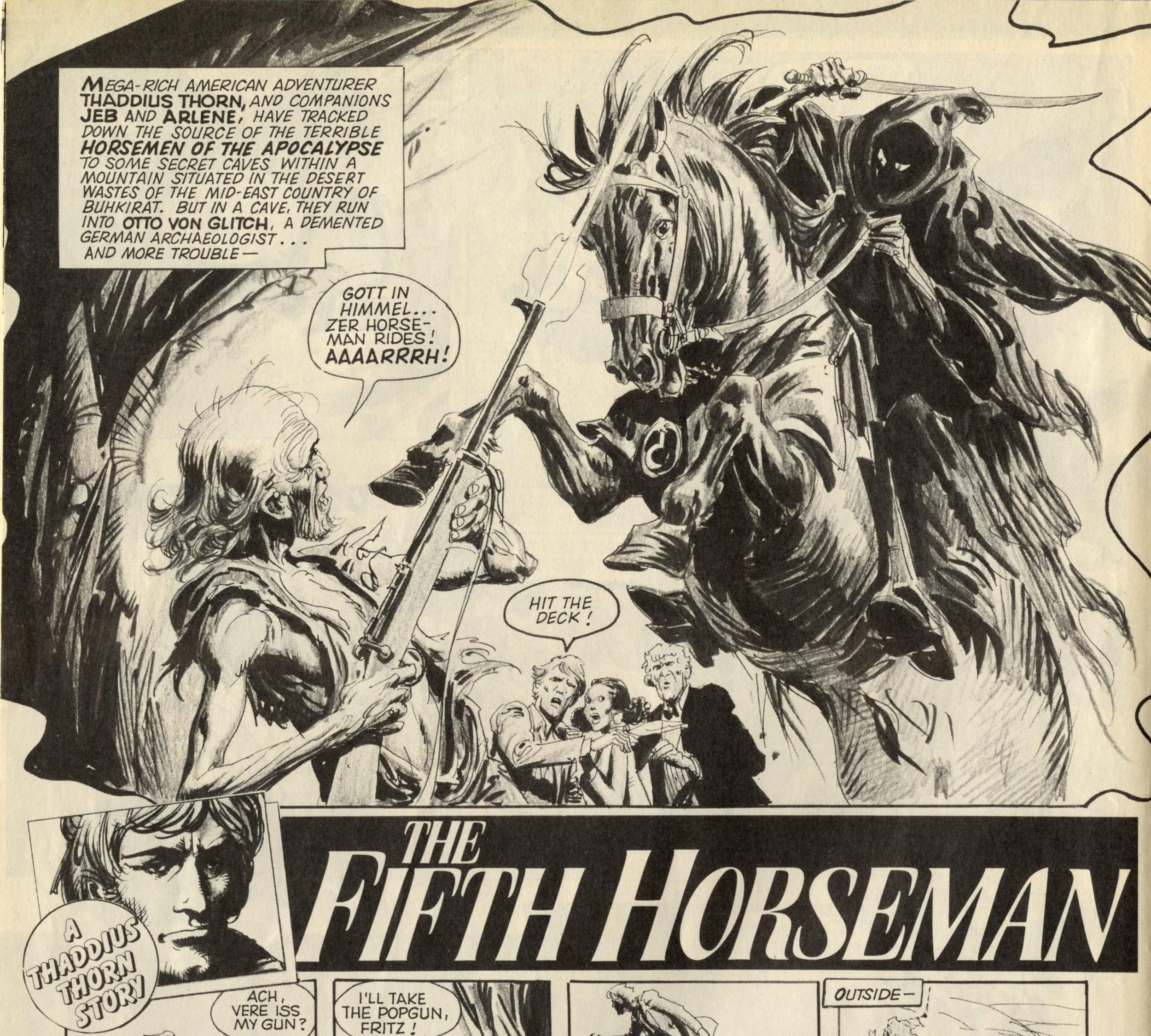 The Fifth Horseman: Alan Hebden (writer), Jose Ortiz (artist)