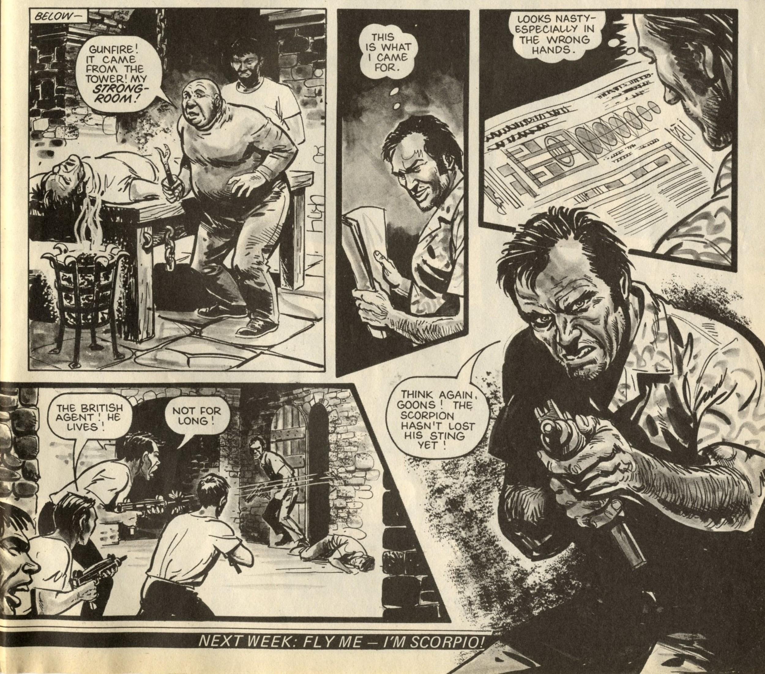 Scorpio: Keith Law (writer), Mike Dorey (artist)