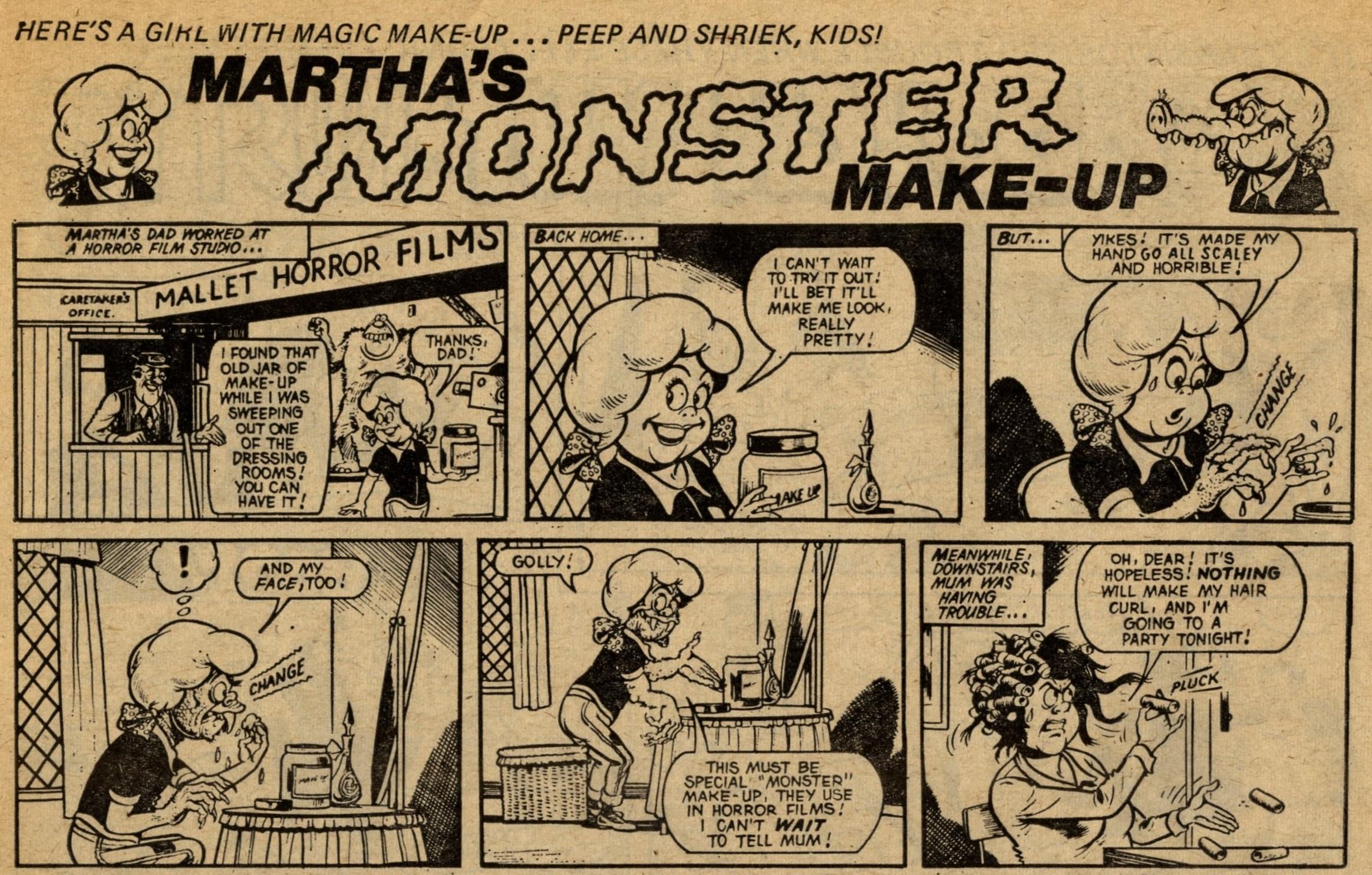 Martha's Monster Make-up: Ken Reid (artist)