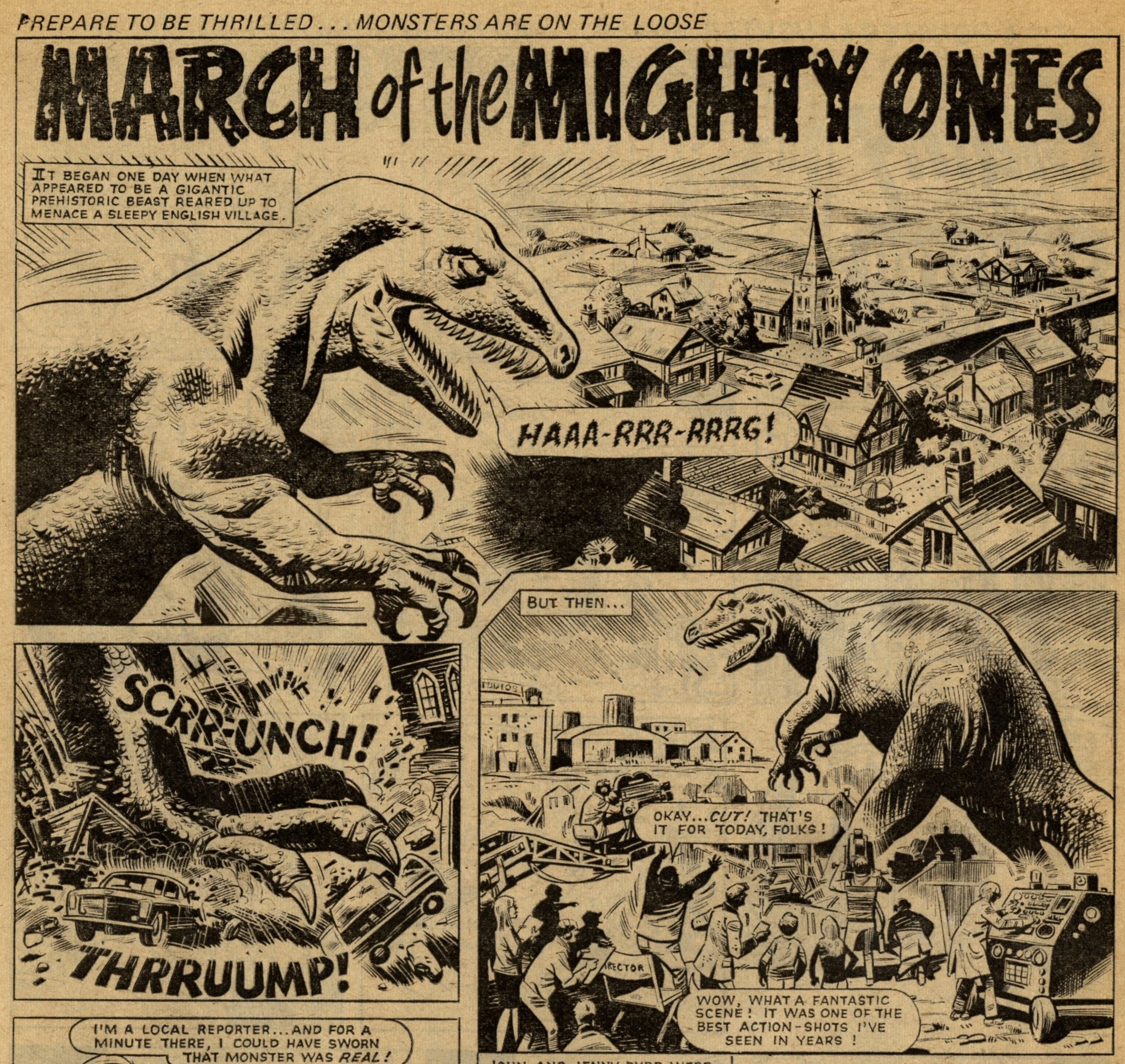 March of the Mighty Ones: Mike White (artist)