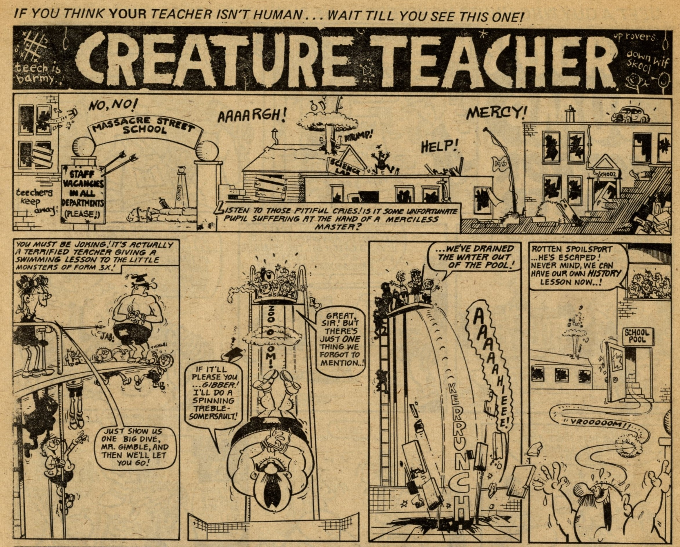 Creature Teacher: Tom Williams (artist)
