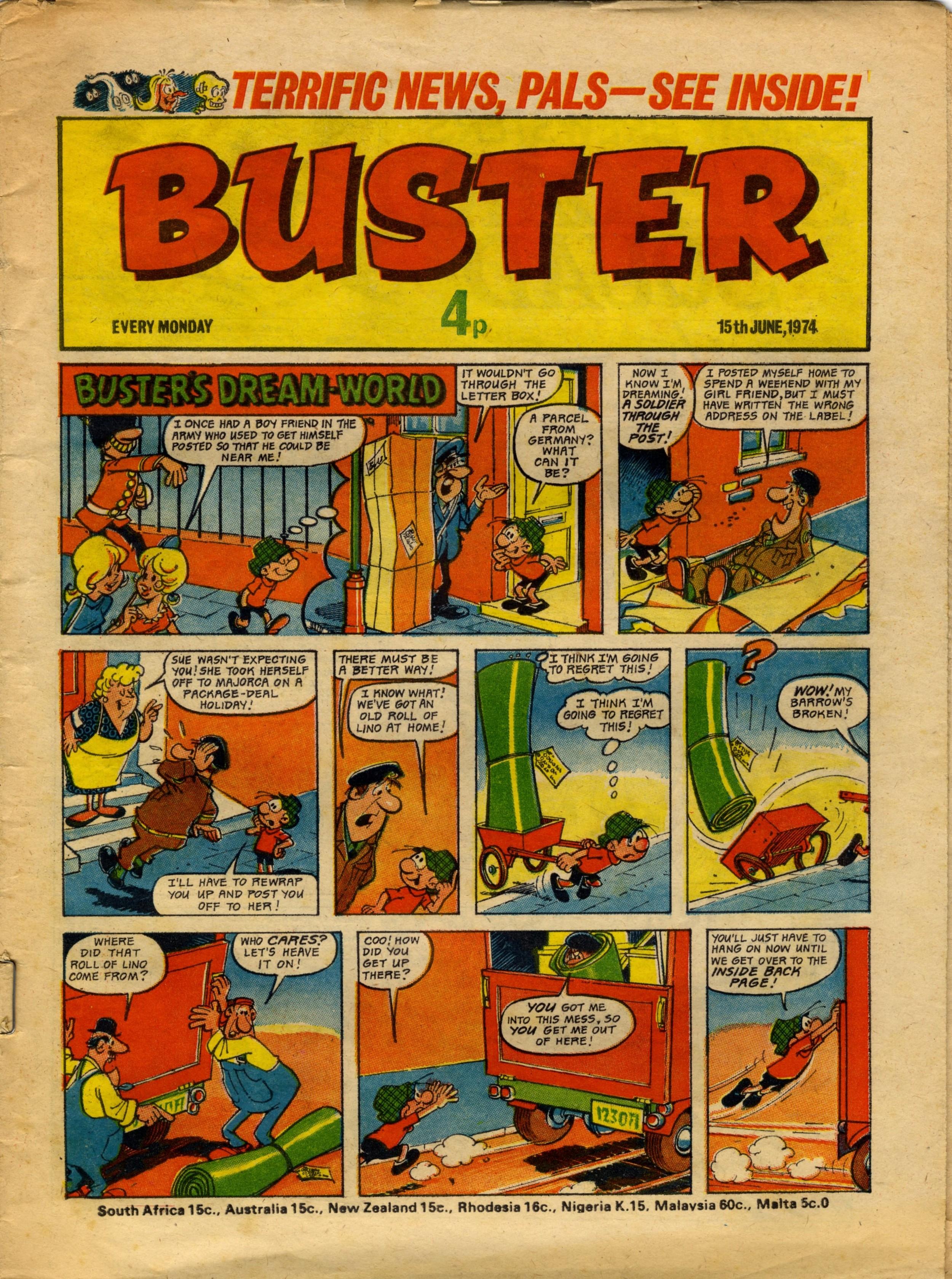 Buster's Dream World: Angel Nadal (artist)