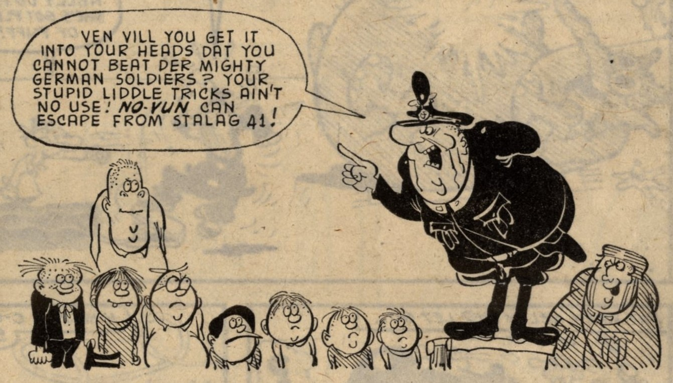 The Kids of Stalag 41: Fred Baker (writer), Tony Goffe (artist)