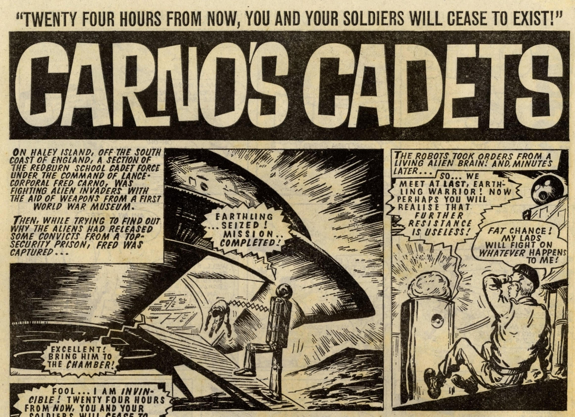 Carno's Cadets: Solano Lopez (artist)