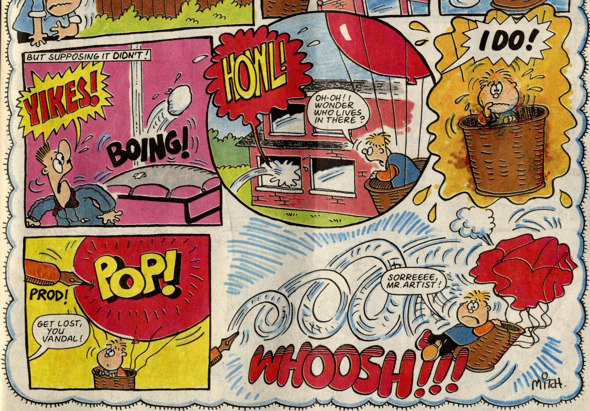 Wonder Boy: Roy Mitchell (artist)