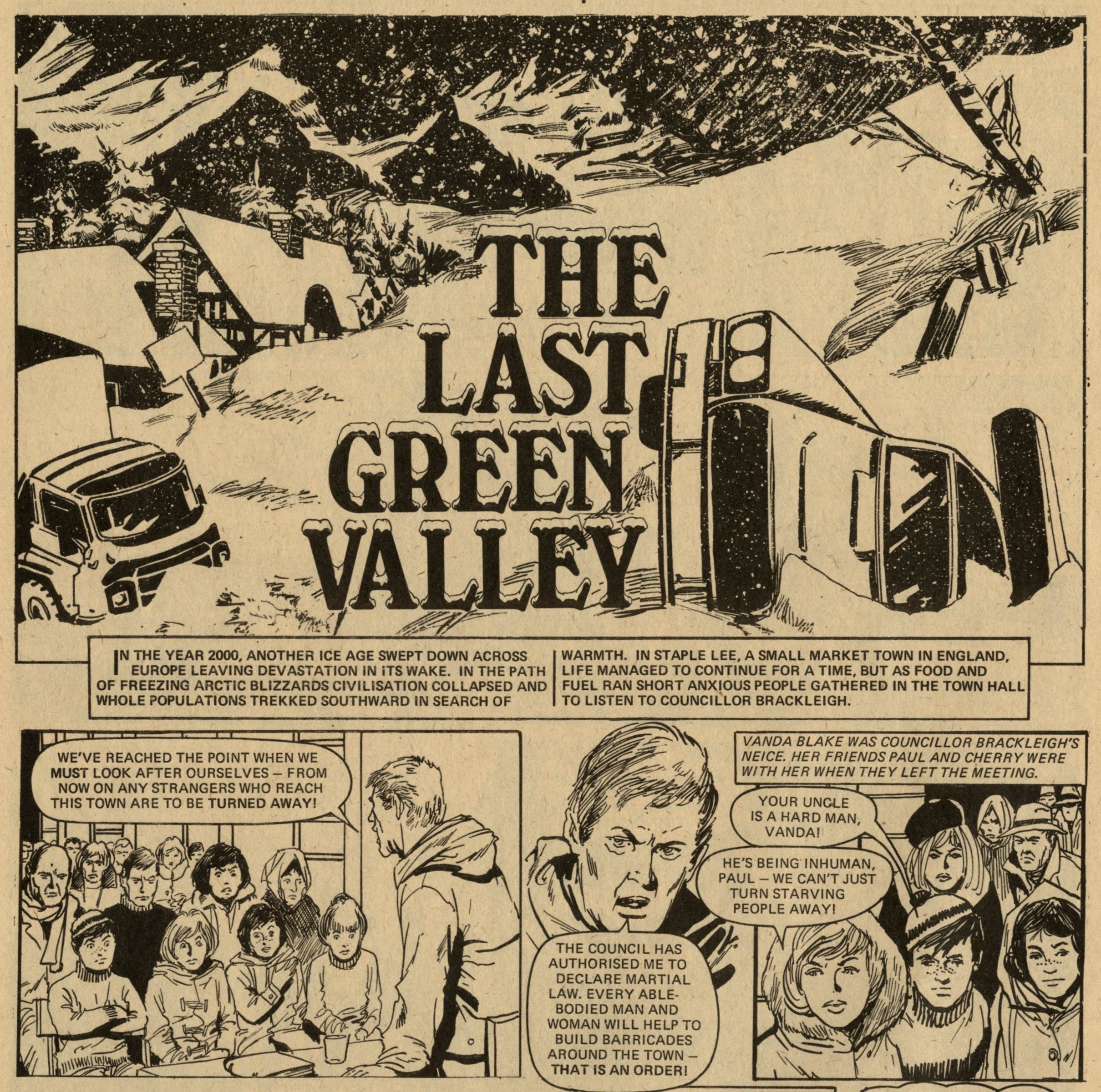 The Last Green Valley: artist unknown