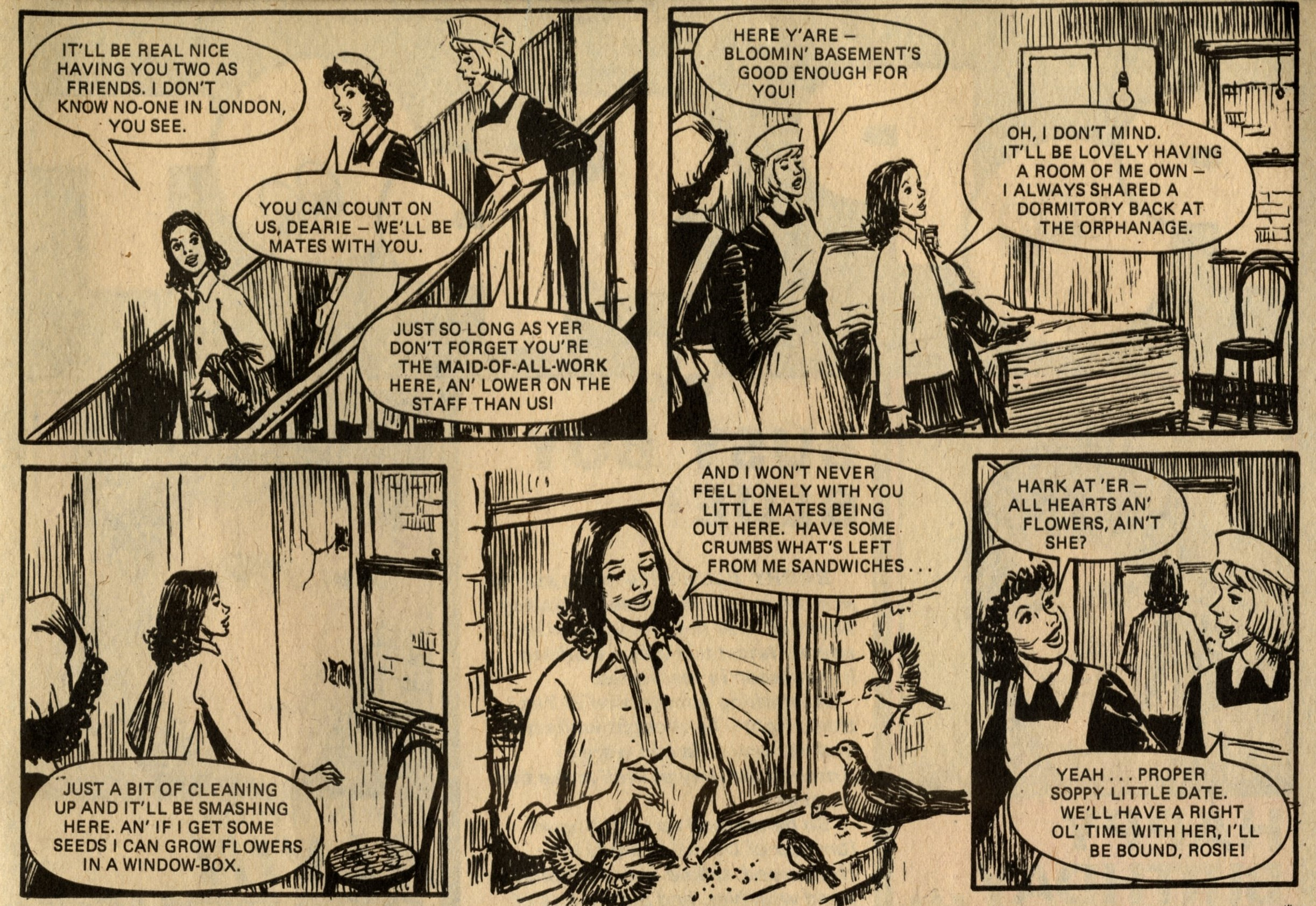 Hard Days for Hilda: Terence Magee (writer), Dudley Wynne (artist)