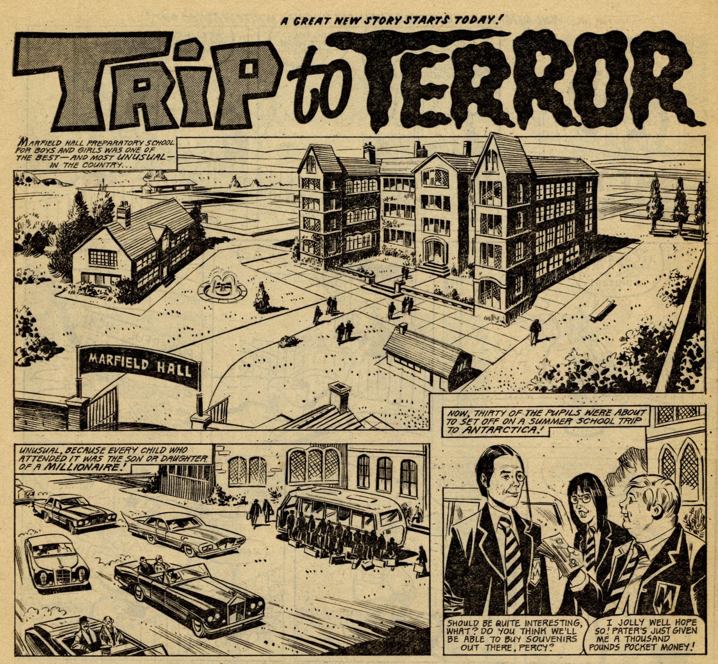Trip to Terror: artist unknown