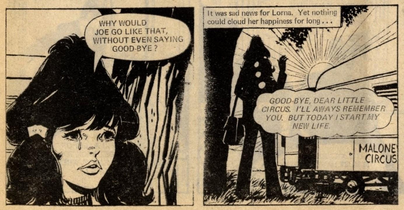 Lorna's Lonely Days: creators unknown