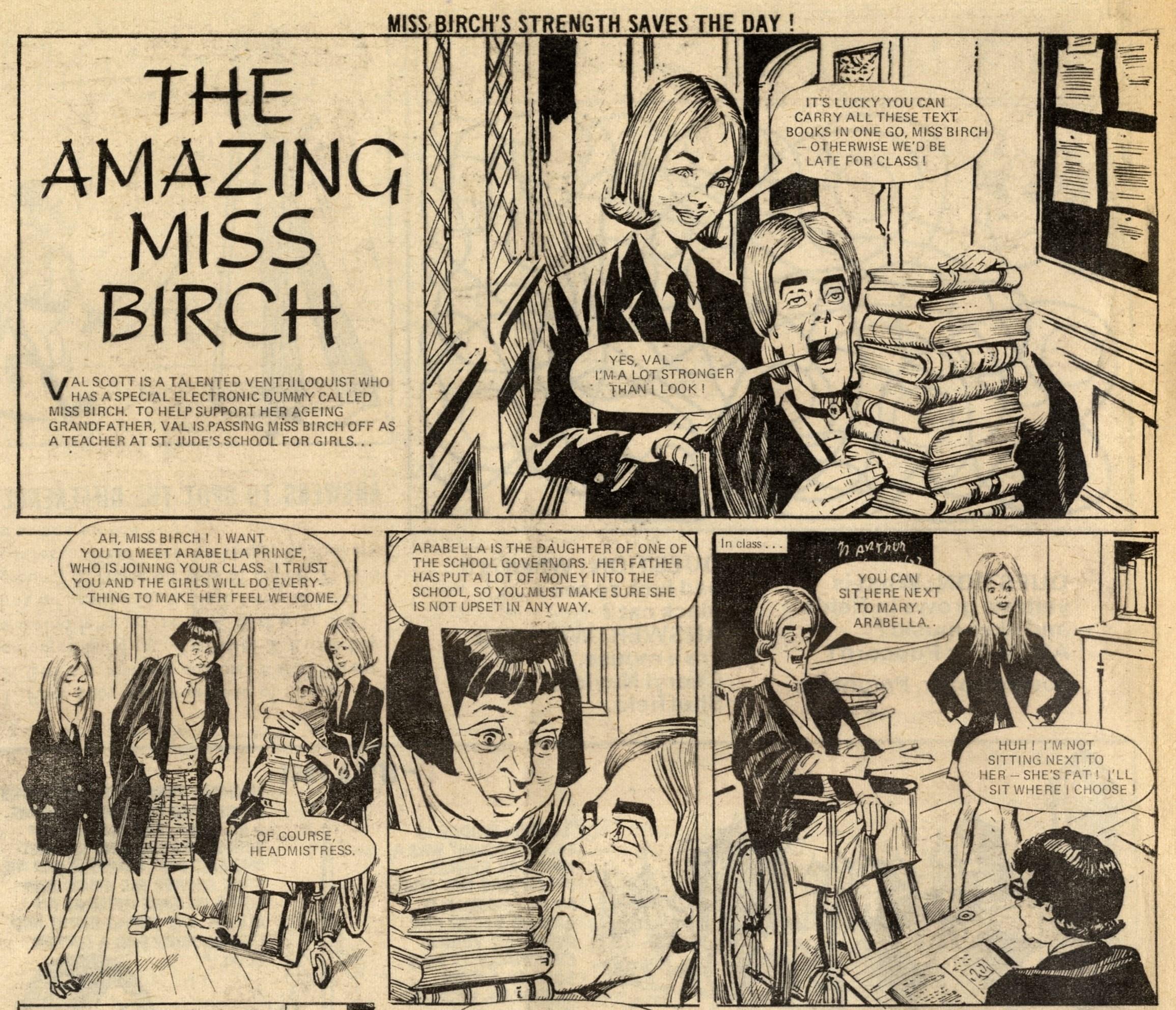 The Amazing Miss Birch: A. E. Allen (artist)