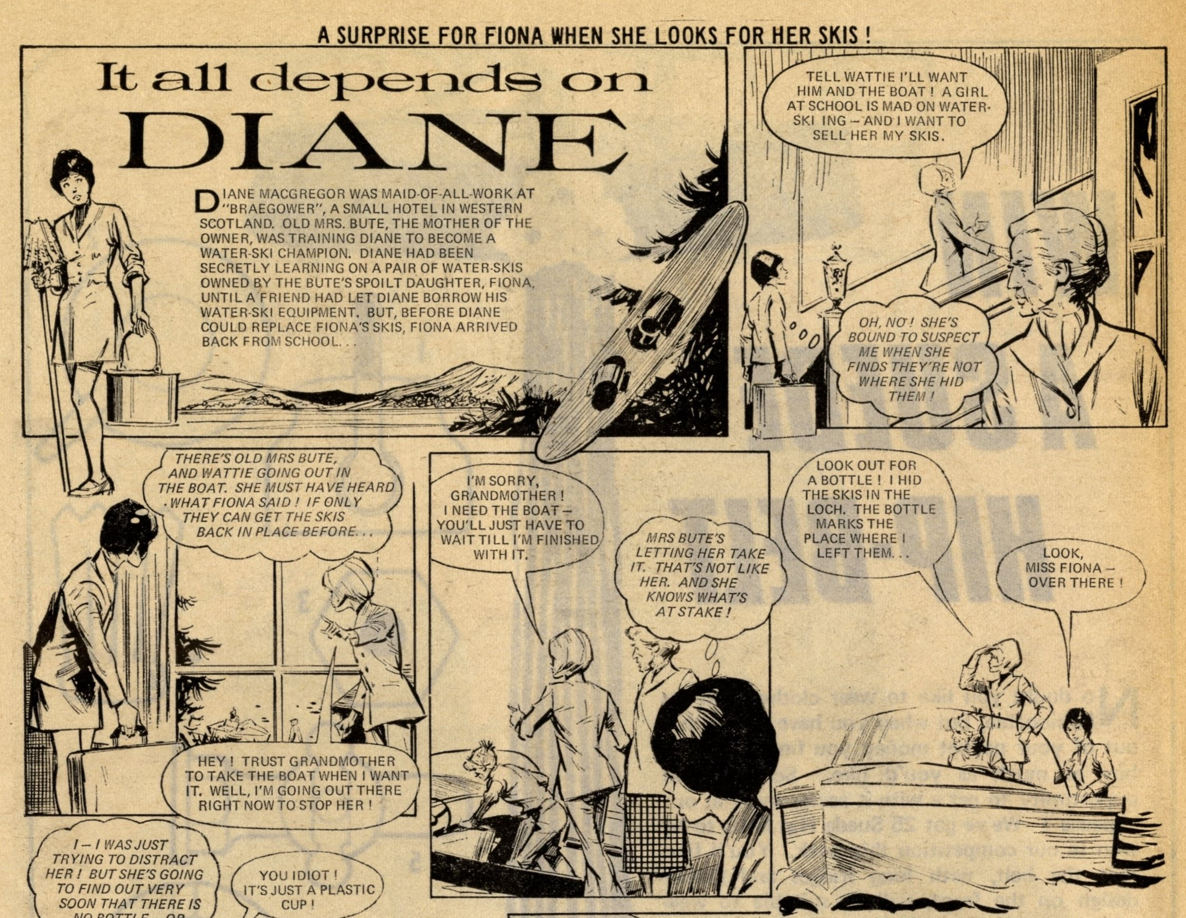 It All Depends on Diane: creators unknown