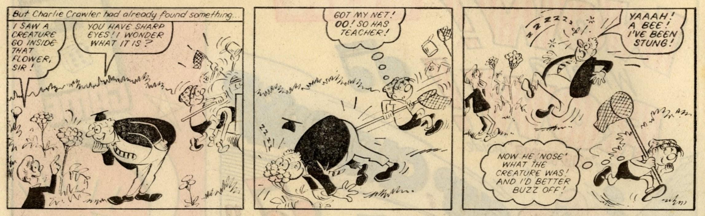 Buster: Reg Parlett (artist)