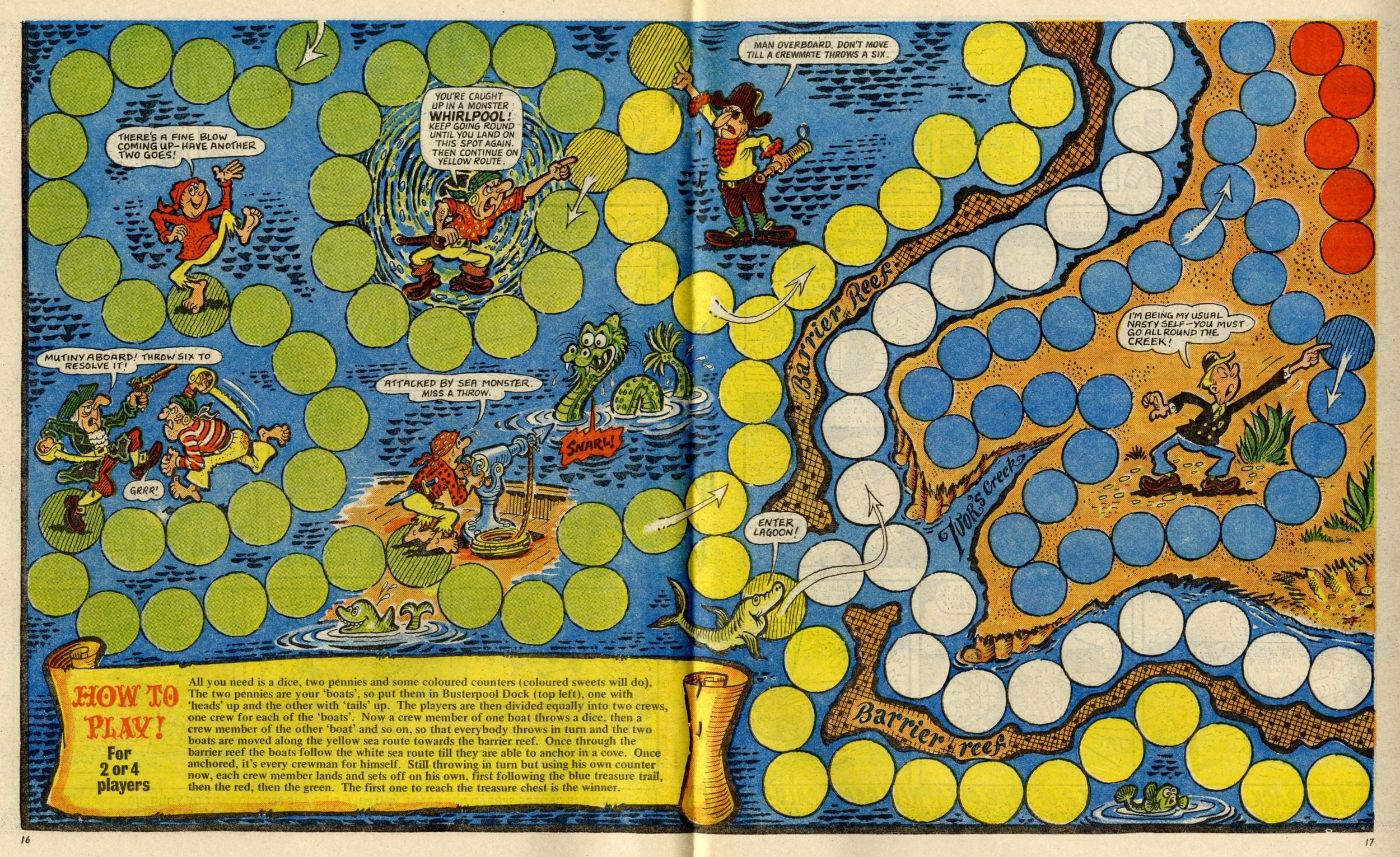 Big Treasure Trail Game: Cliff Brown (artist)