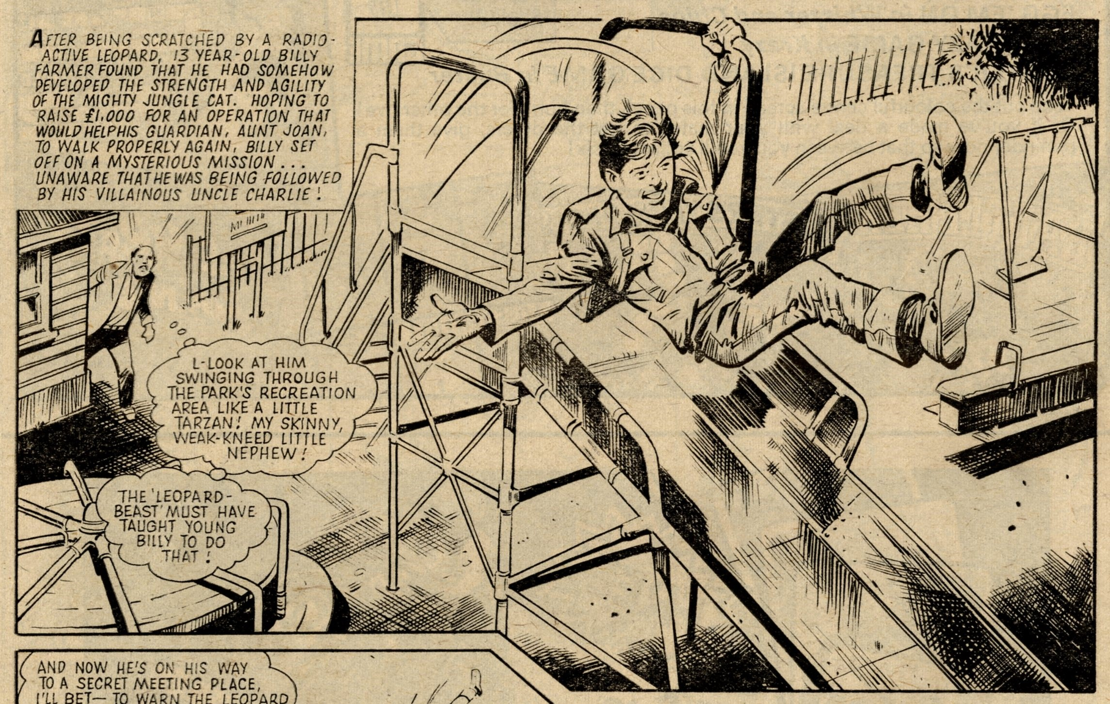 The Leopard from Lime Street: Tom Tully (writer), Mike Western (artist)