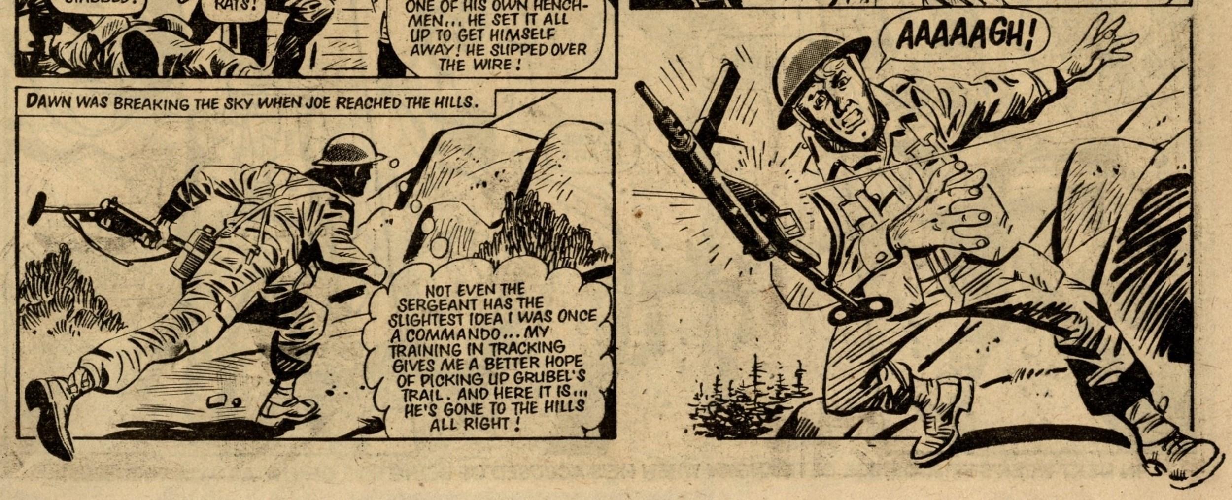 The Commando They Didn't Want: John Richard (writer), Carlos Pino (artist)