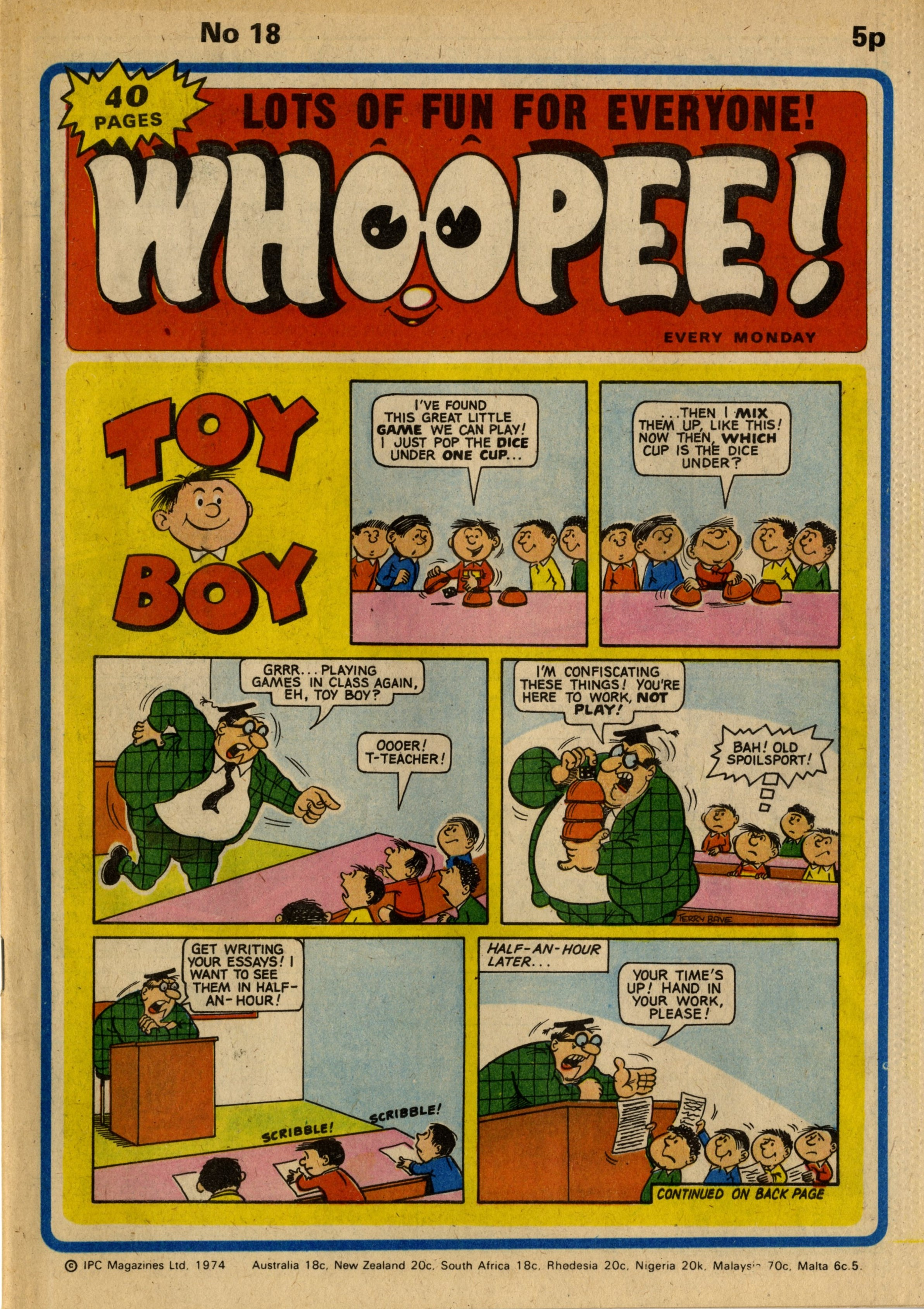 Toy Boy: Terry Bave (artist)