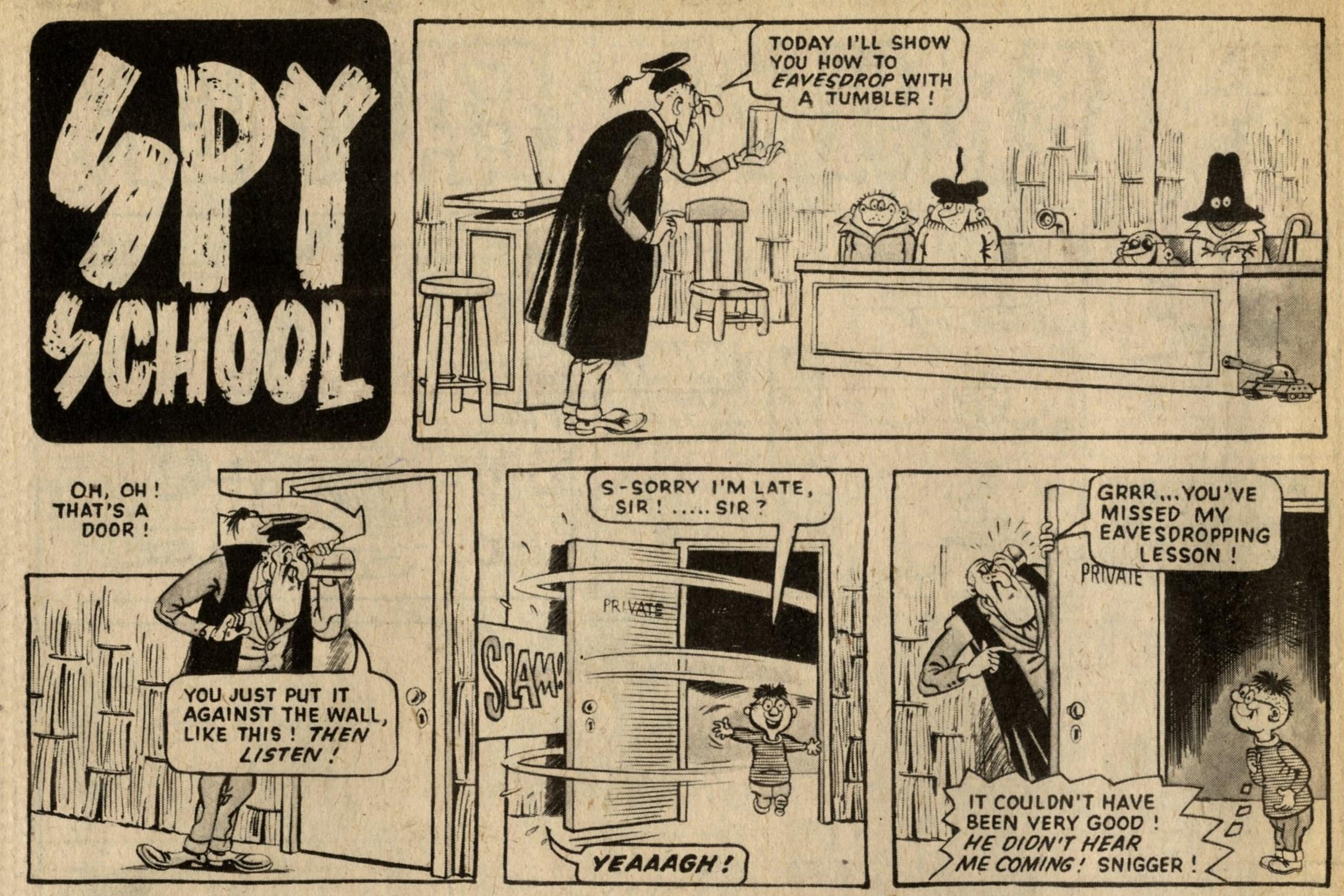 Spy School: Graham Allen (artist)