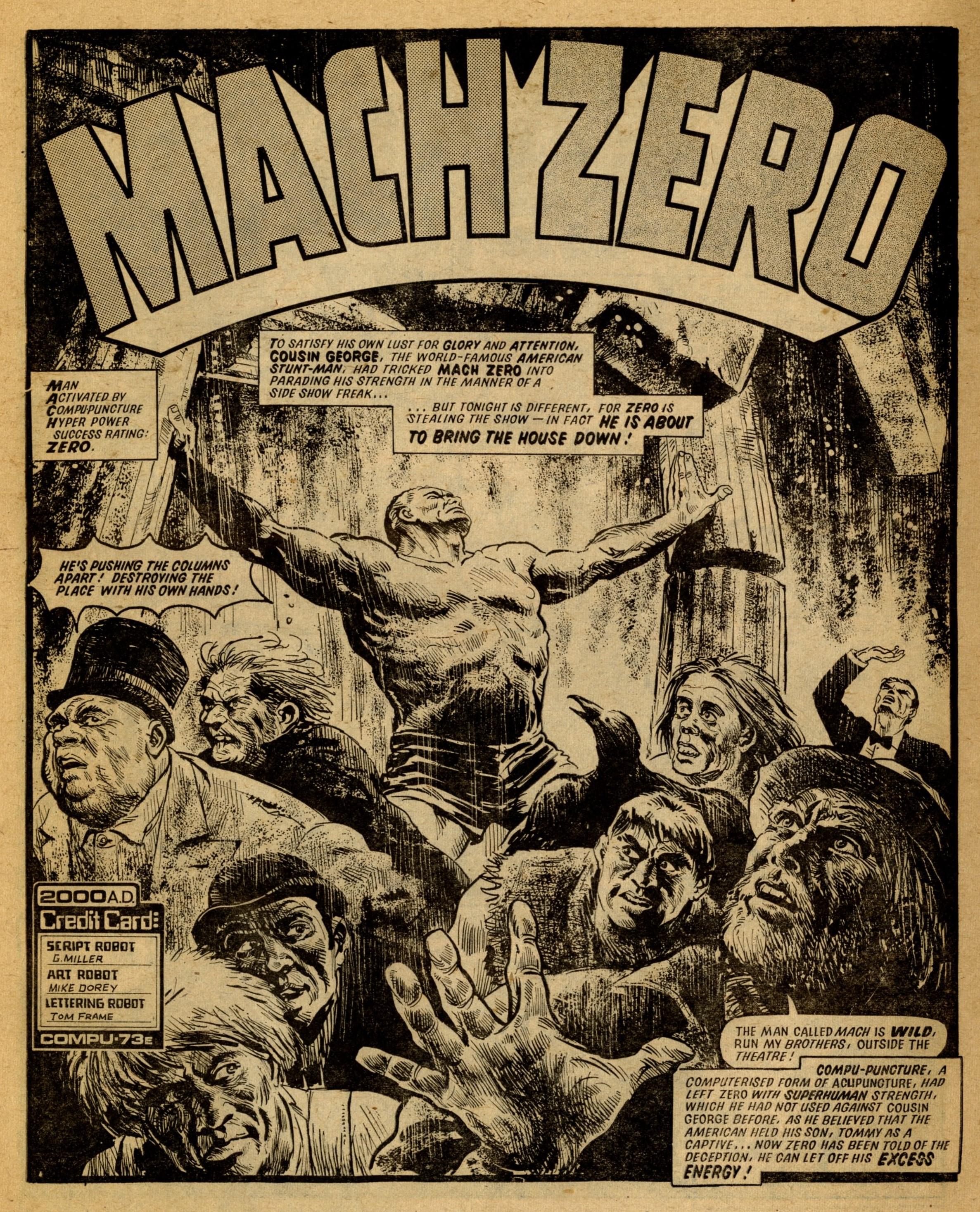 MACH Zero: Steve MacManus (writer), Mike Dorey (artist)