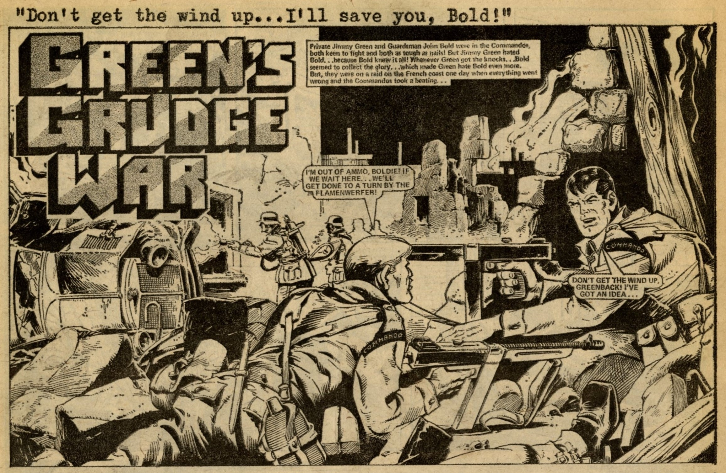 Green's Grudge War: Gerry Finley-Day (writer), Massimo Belardinelli (artist)
