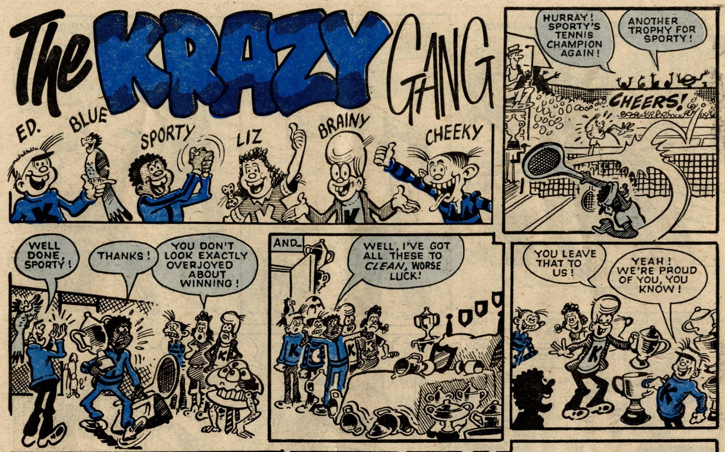 The Krazy Gang: Bob Hill (artist)