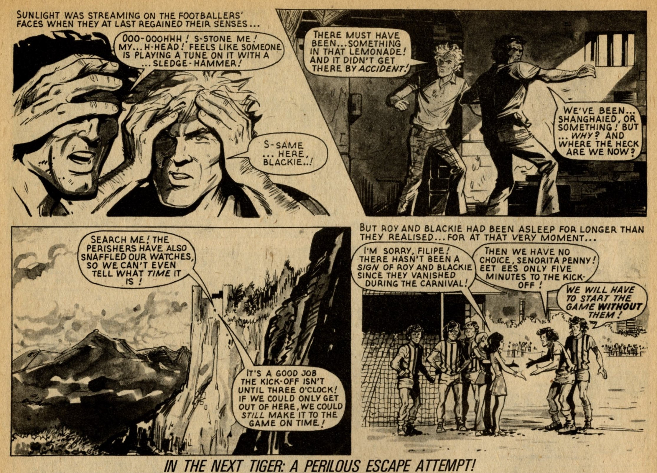 Roy of the Rovers: Tom Tully (writer), Yvonne Hutton (artist)