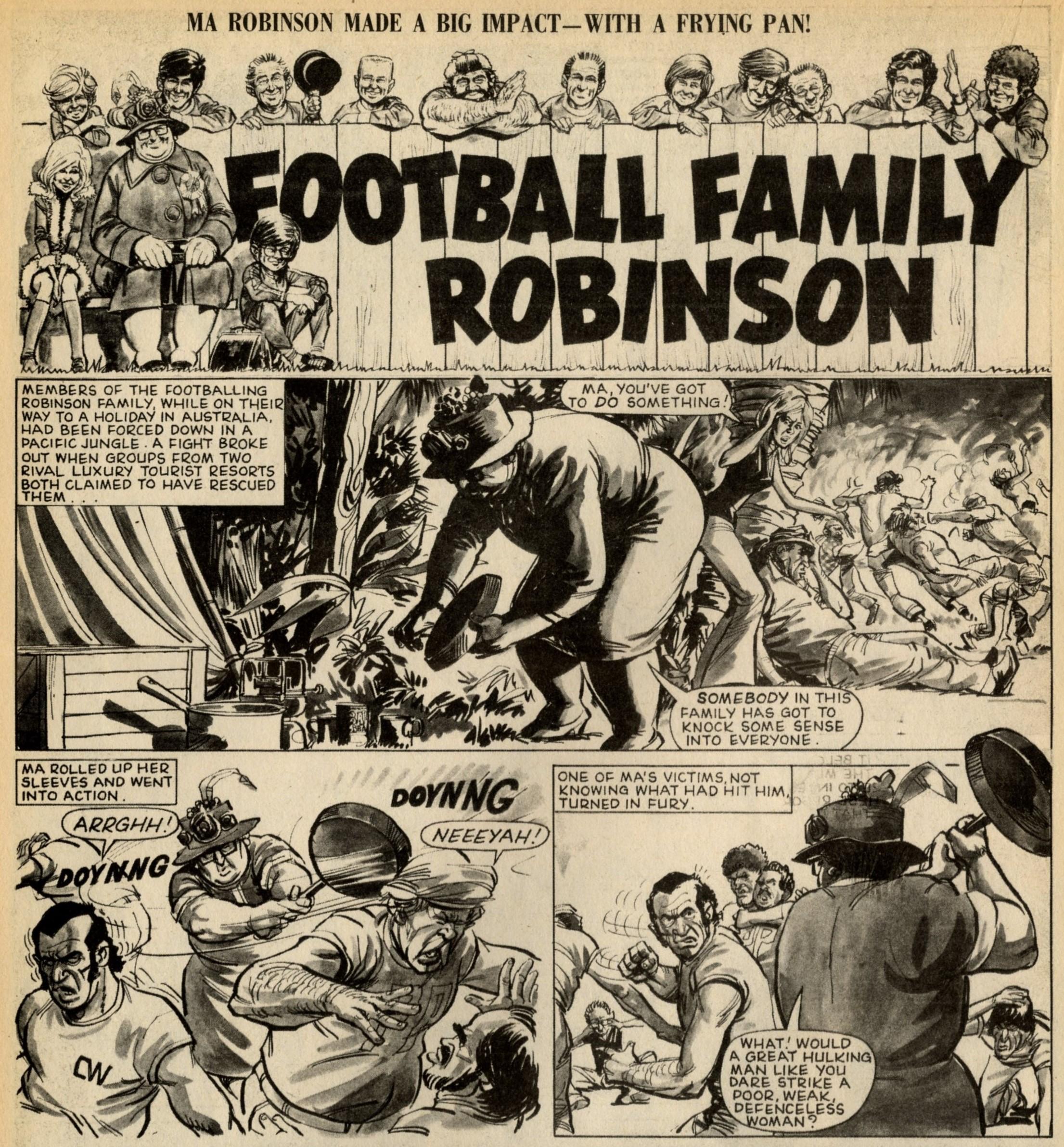 Football Family Robinson: Tom Tully (writer), John Gillatt (artist)