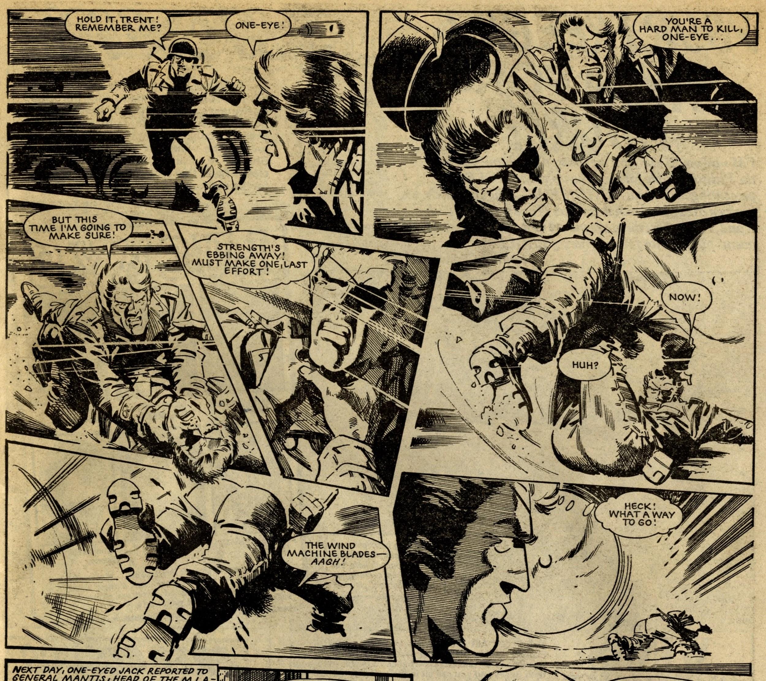 One-eyed Jack (reprint from Valiant): John Wagner (writer), John Cooper (artist)