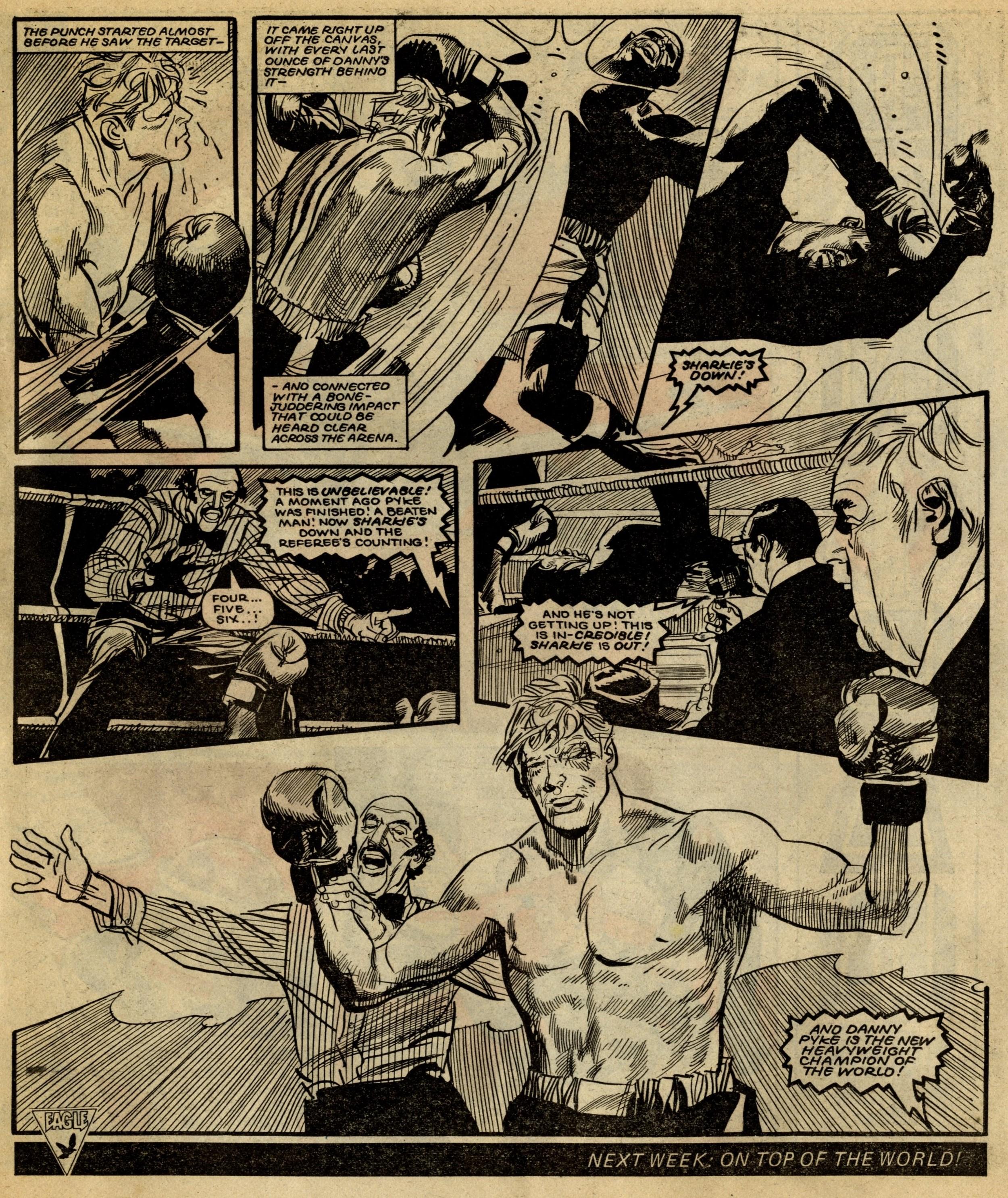 The Fists of Danny Pyke: John Wagner (writer); John Burns (artist)
