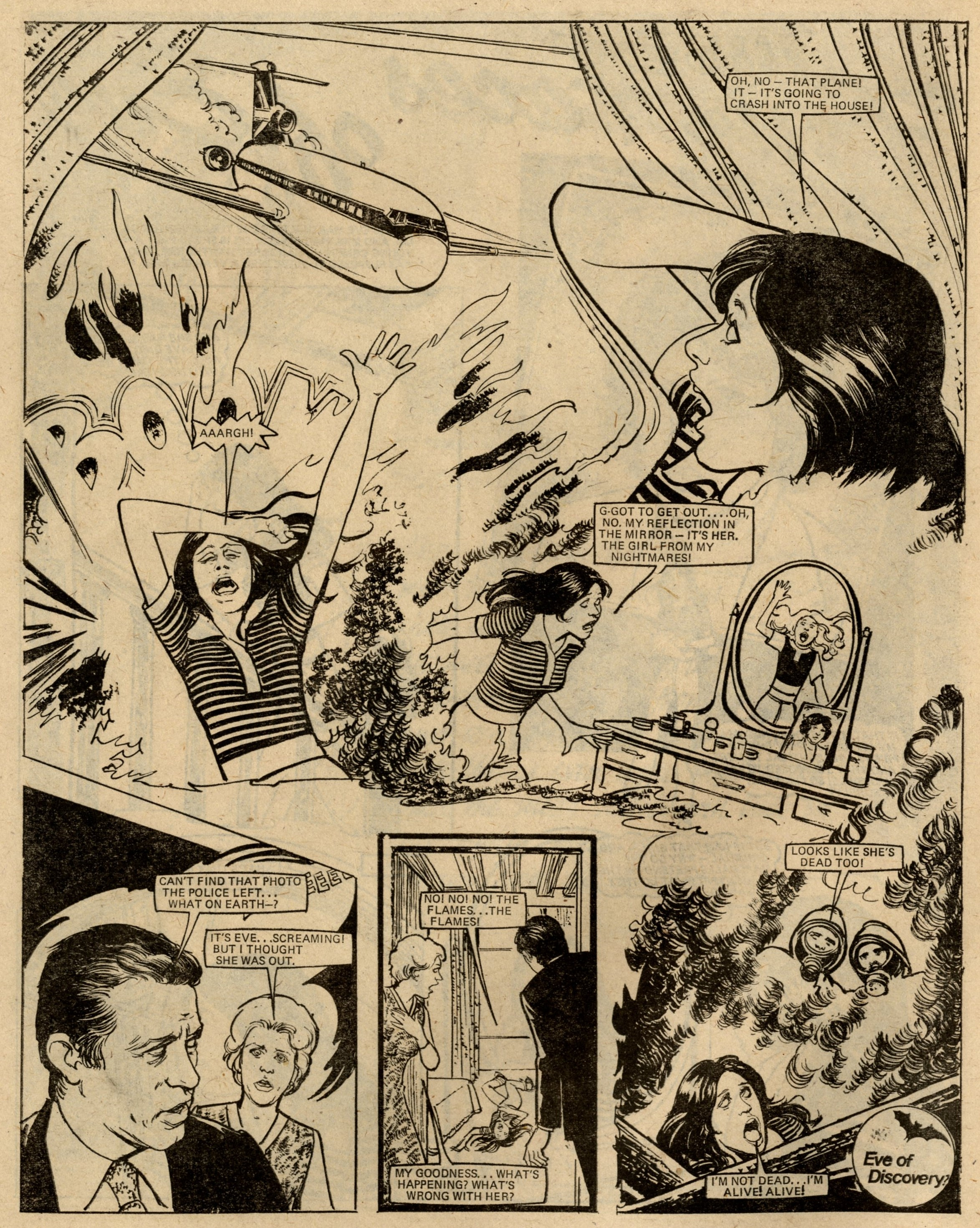 The Four Faces of Eve: Malcolm Shaw (writer), Brian Delaney (artist)