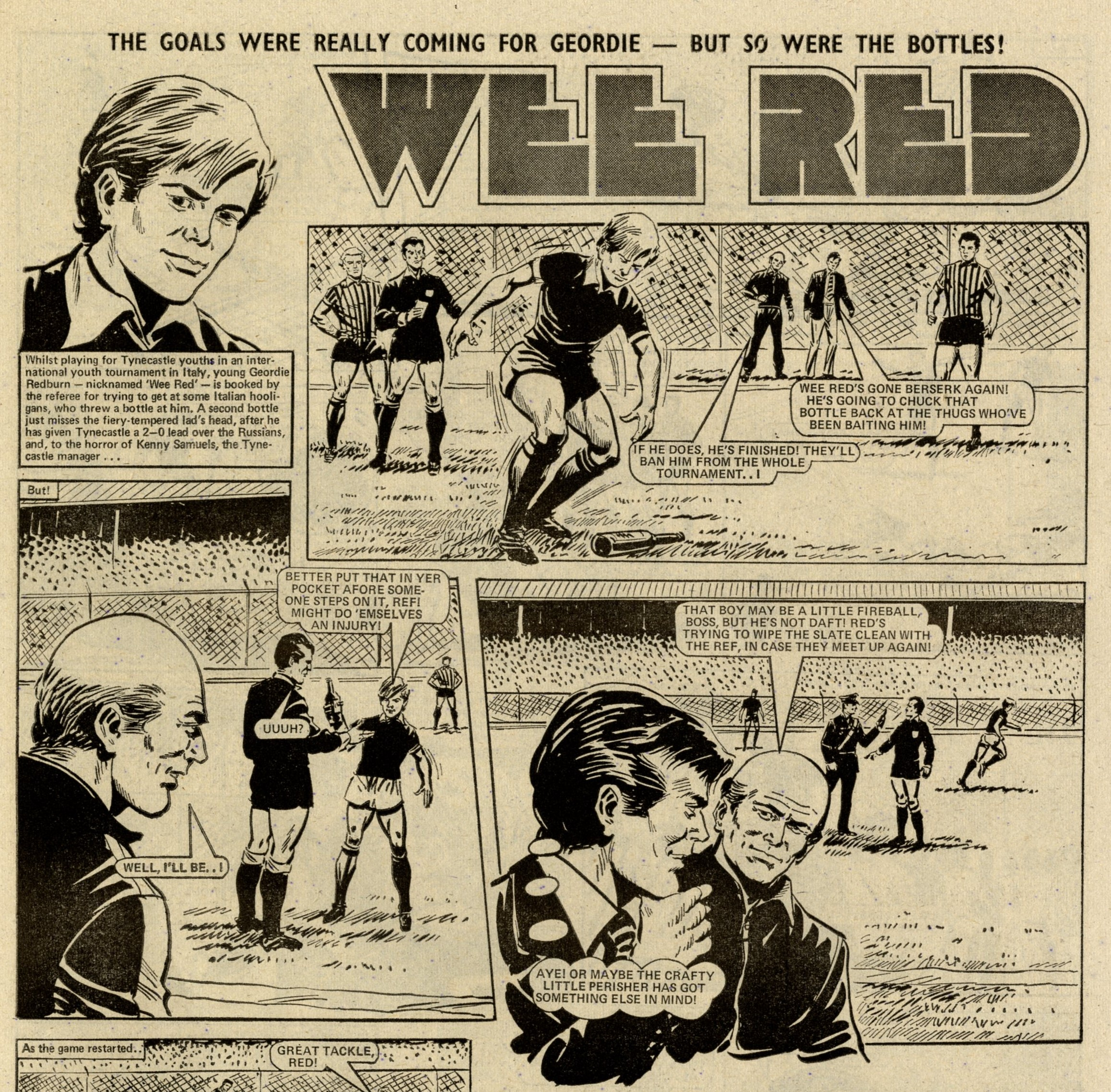 Wee Red: creators unknown
