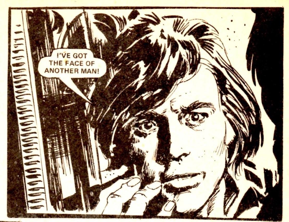 Action's  The Running Man (Steve MacManus (writer), Horacio Lalia (artist))