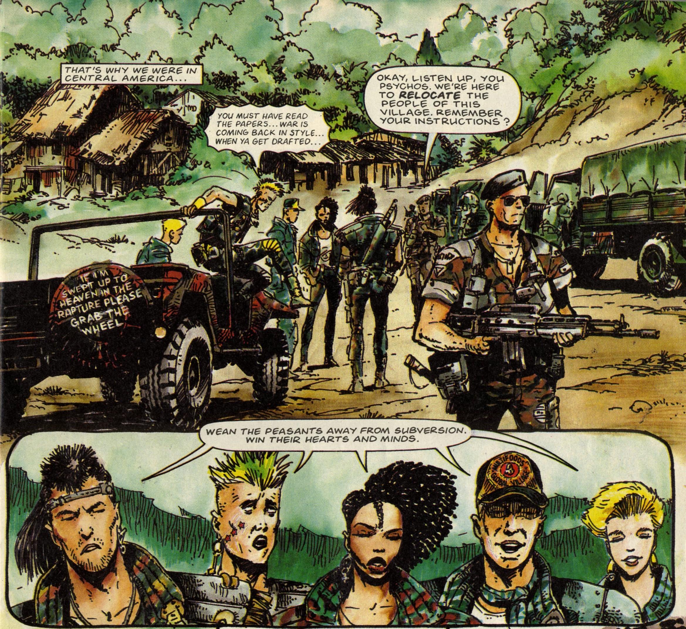 Third World War: Pat Mills (writer), Carlos Ezquerra (artist)