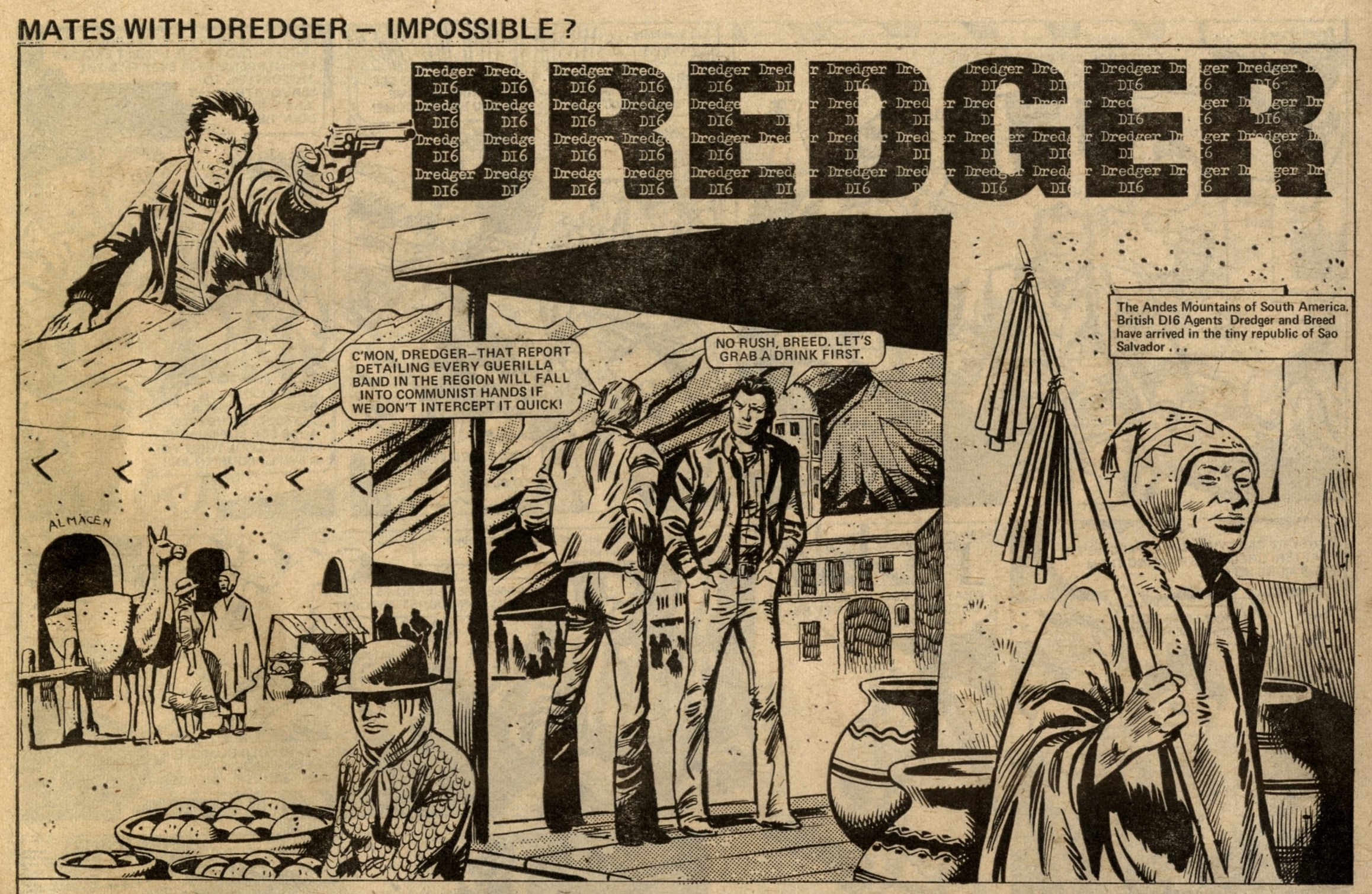 Dredger: Ricardo Villagran (artist)