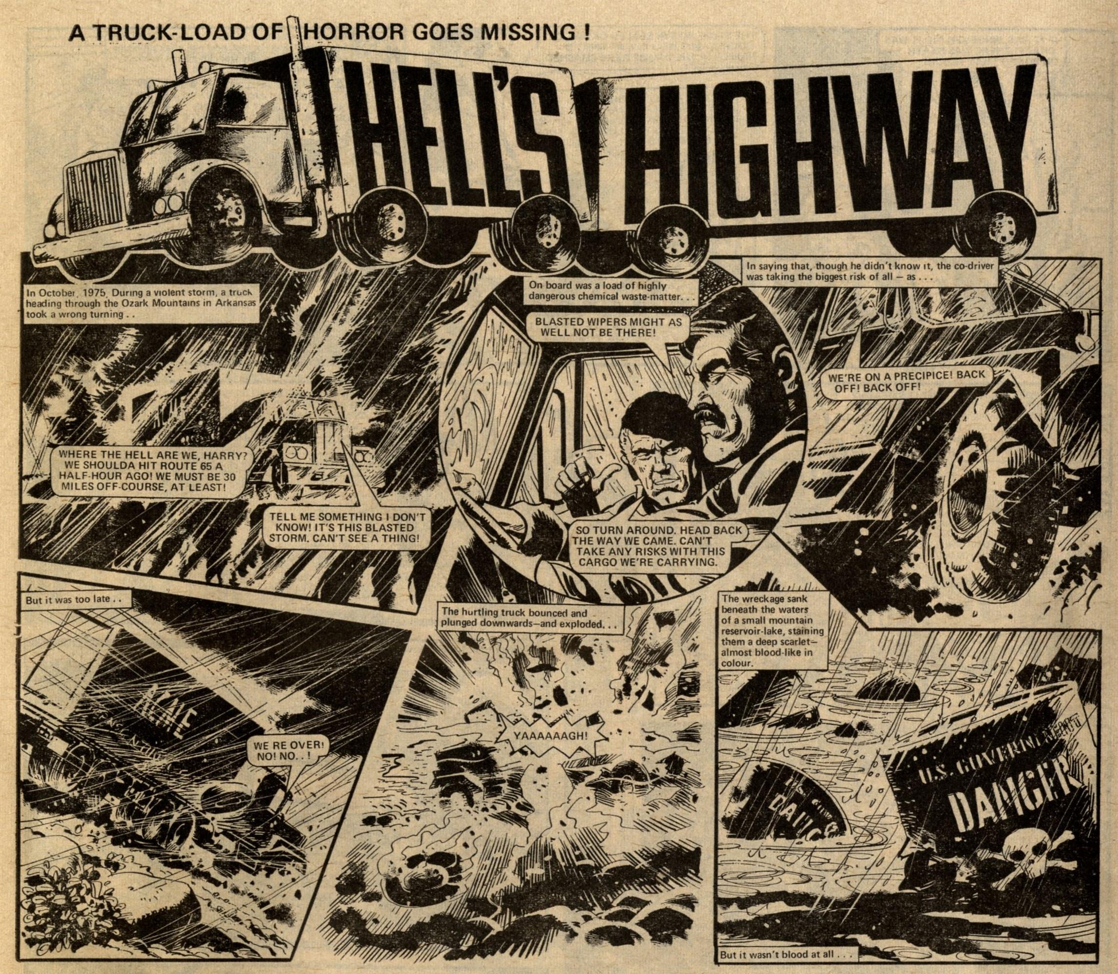Hell's Highway: Chris Lowder (writer), Mike White (artist)