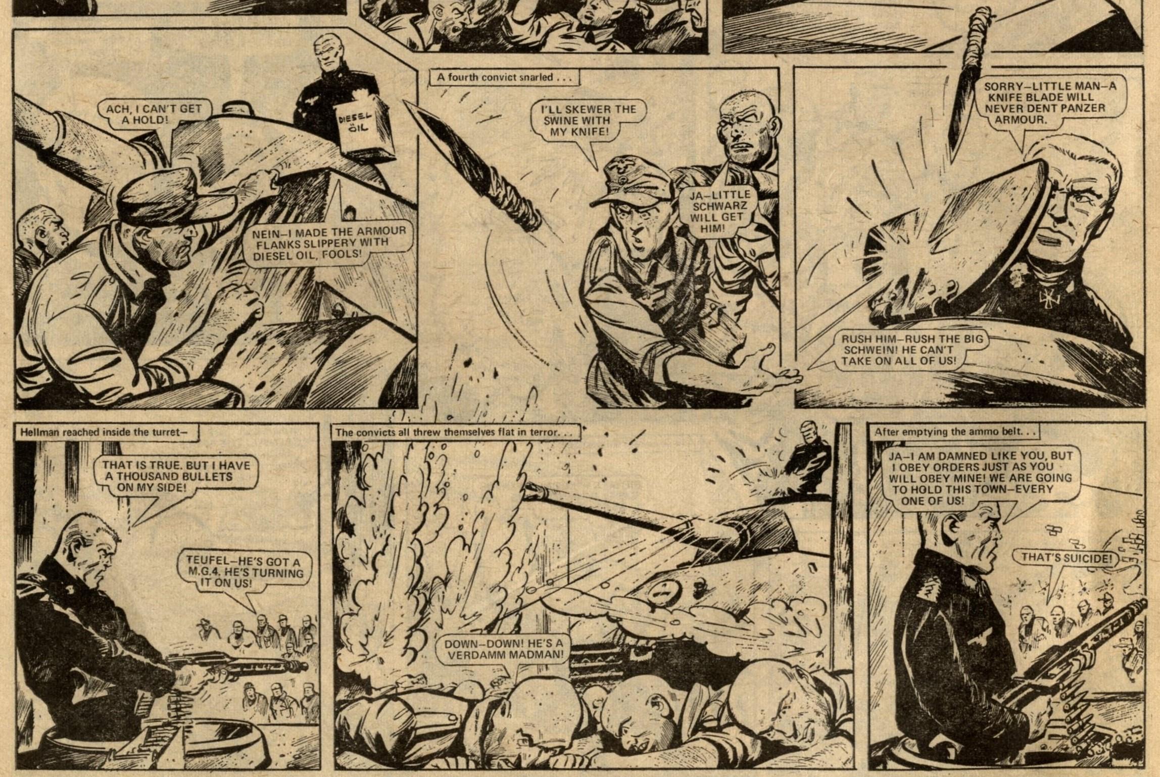 Hellman on the Russian Front: Gerry Finley-Day (writer), Jim Watson? (artist)