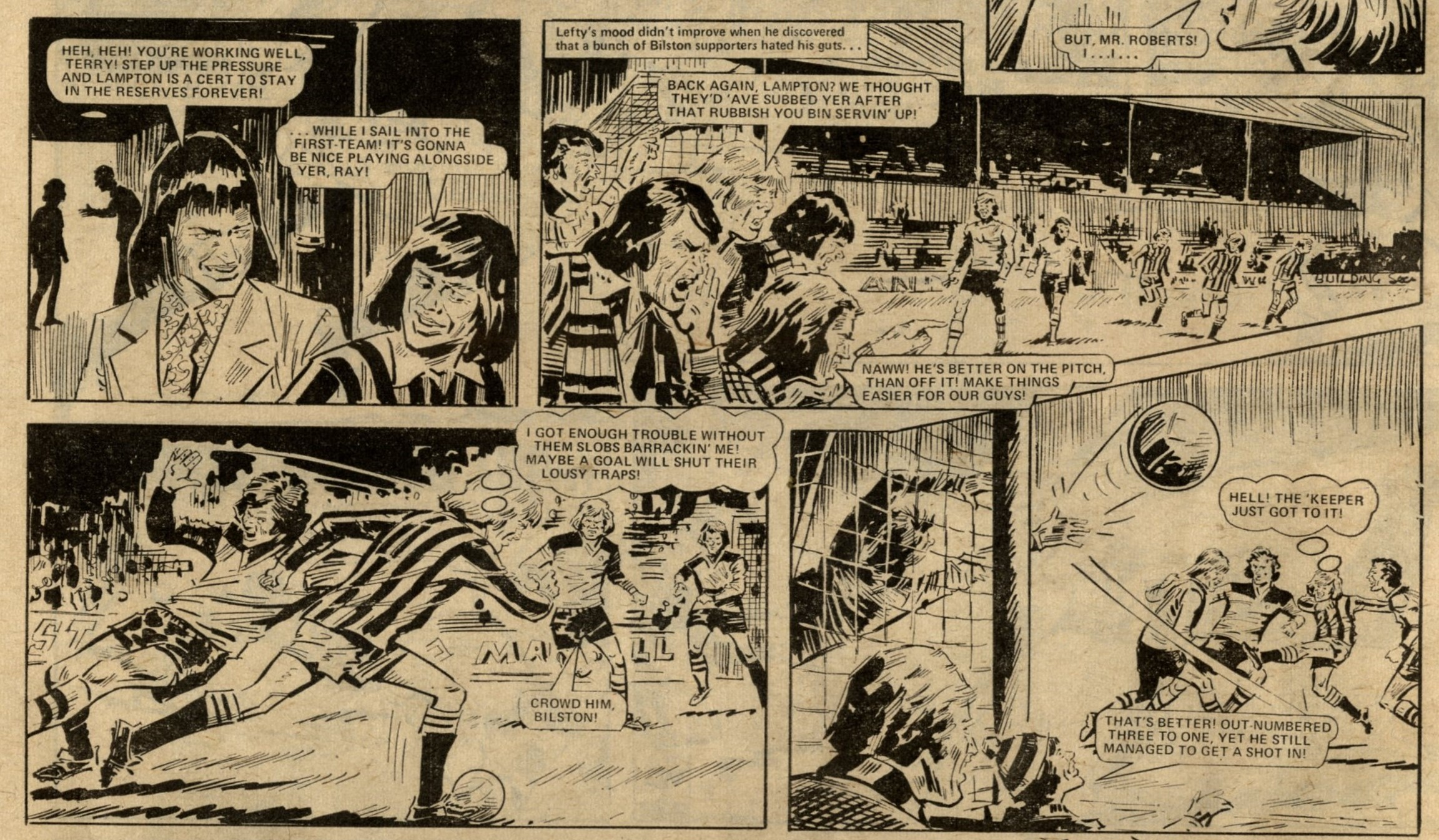 Look Out for Lefty: Tom Tully (writer), Tony Harding (artist)