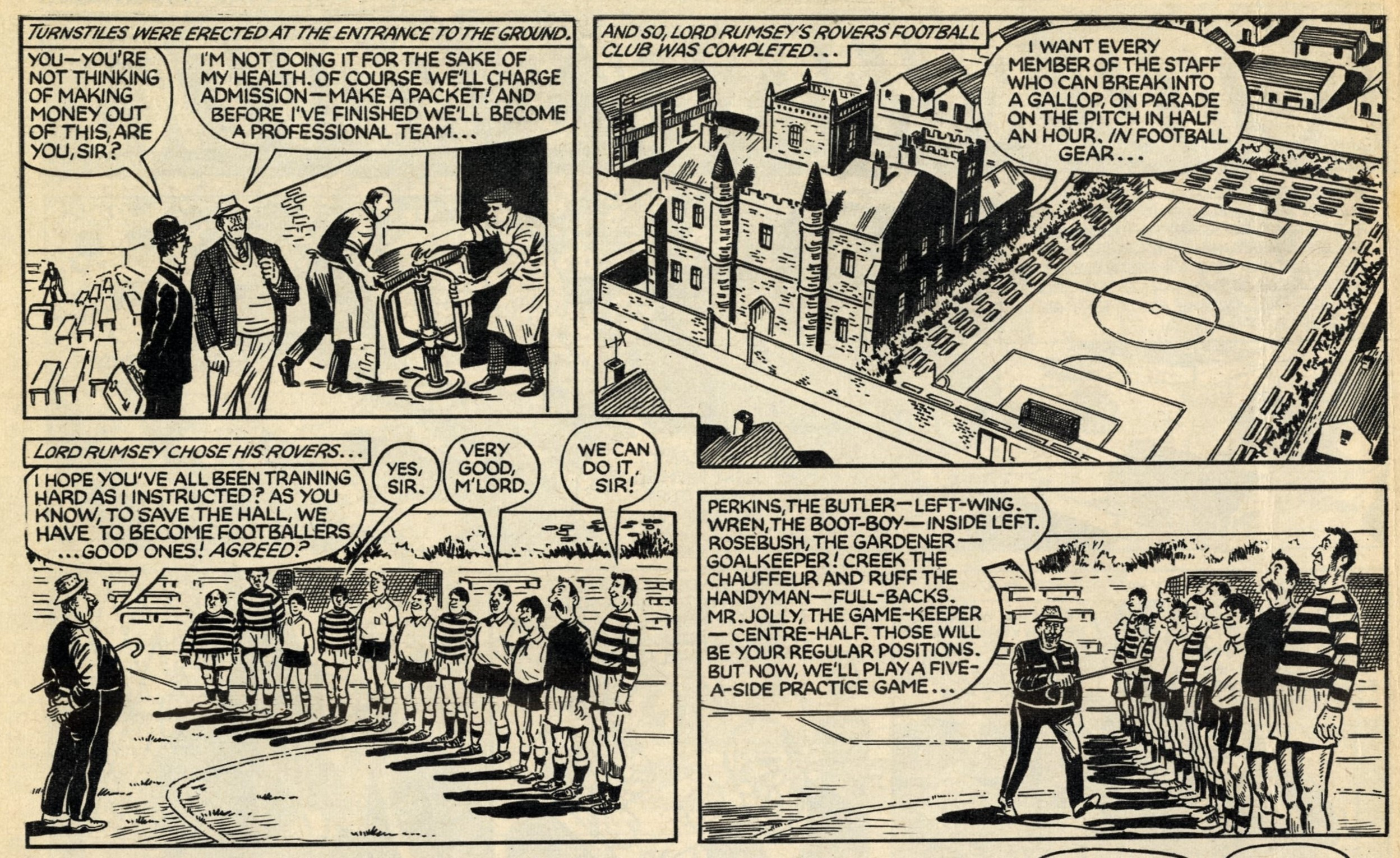 Lord Rumsey's Rovers: Fred Baker (writer), Doug Maxted (artist)