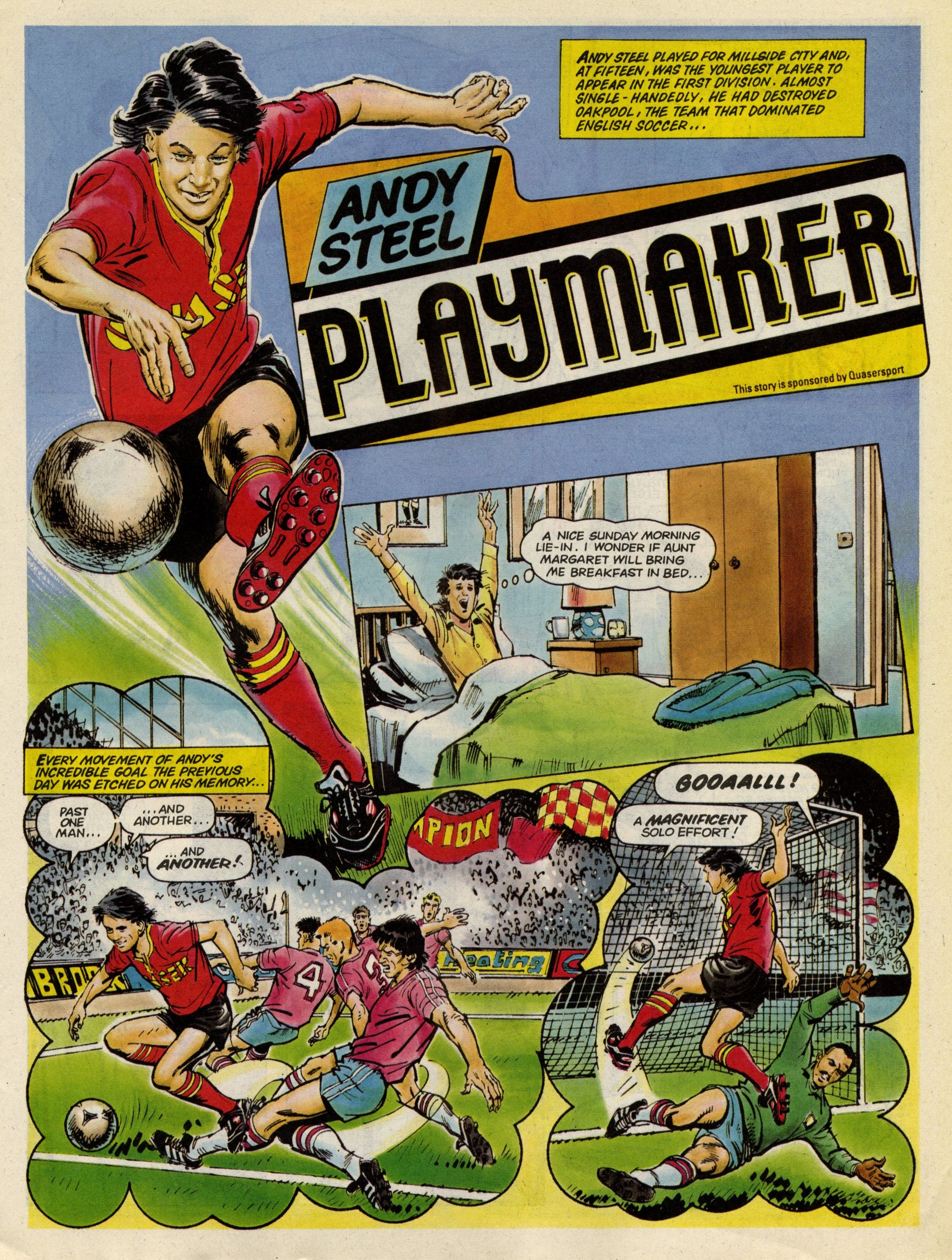 Andy Steel, Playmaker: Barrie Mitchell (artist)