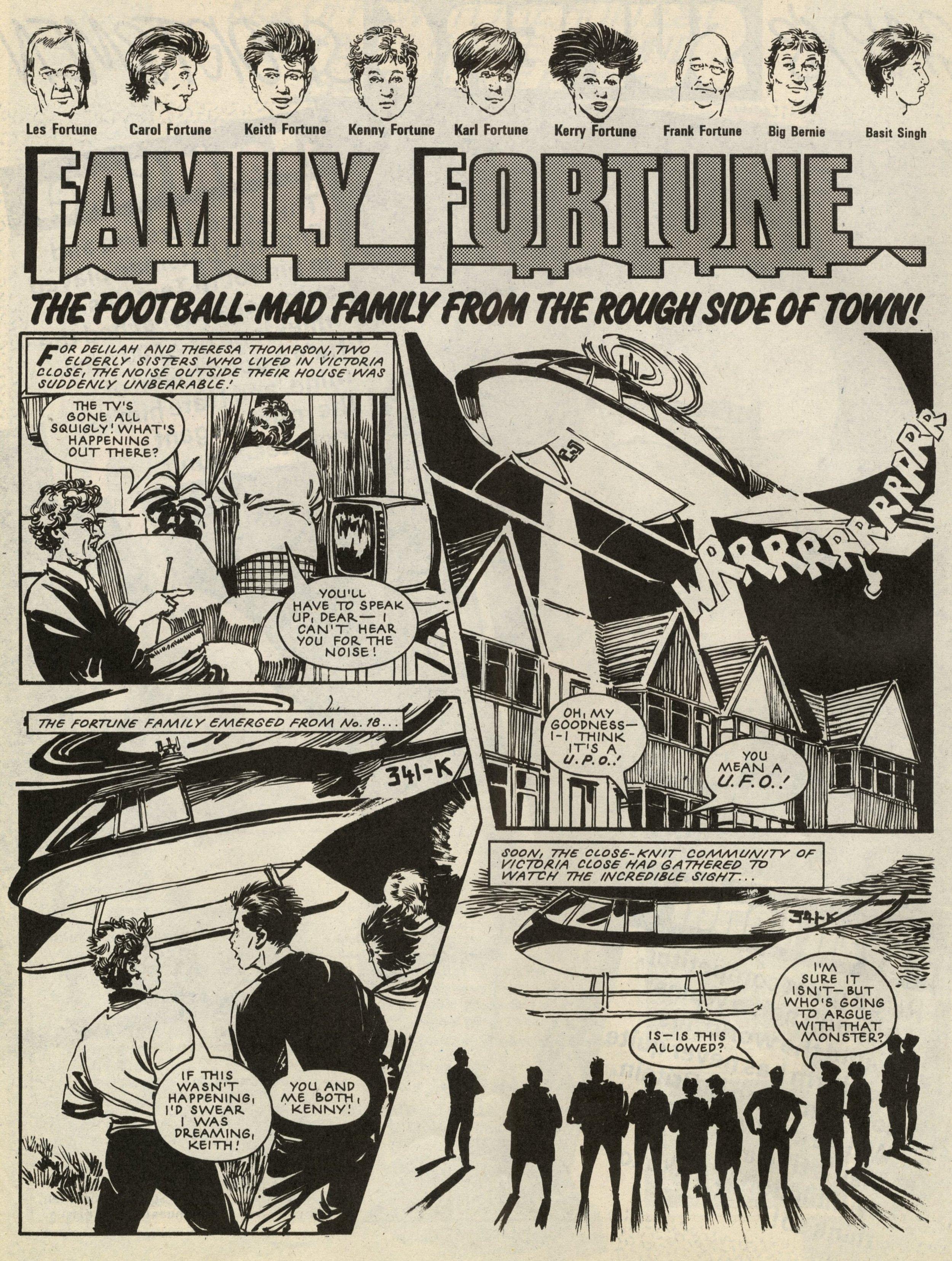Family Fortune: Bob Harvey (artist  )