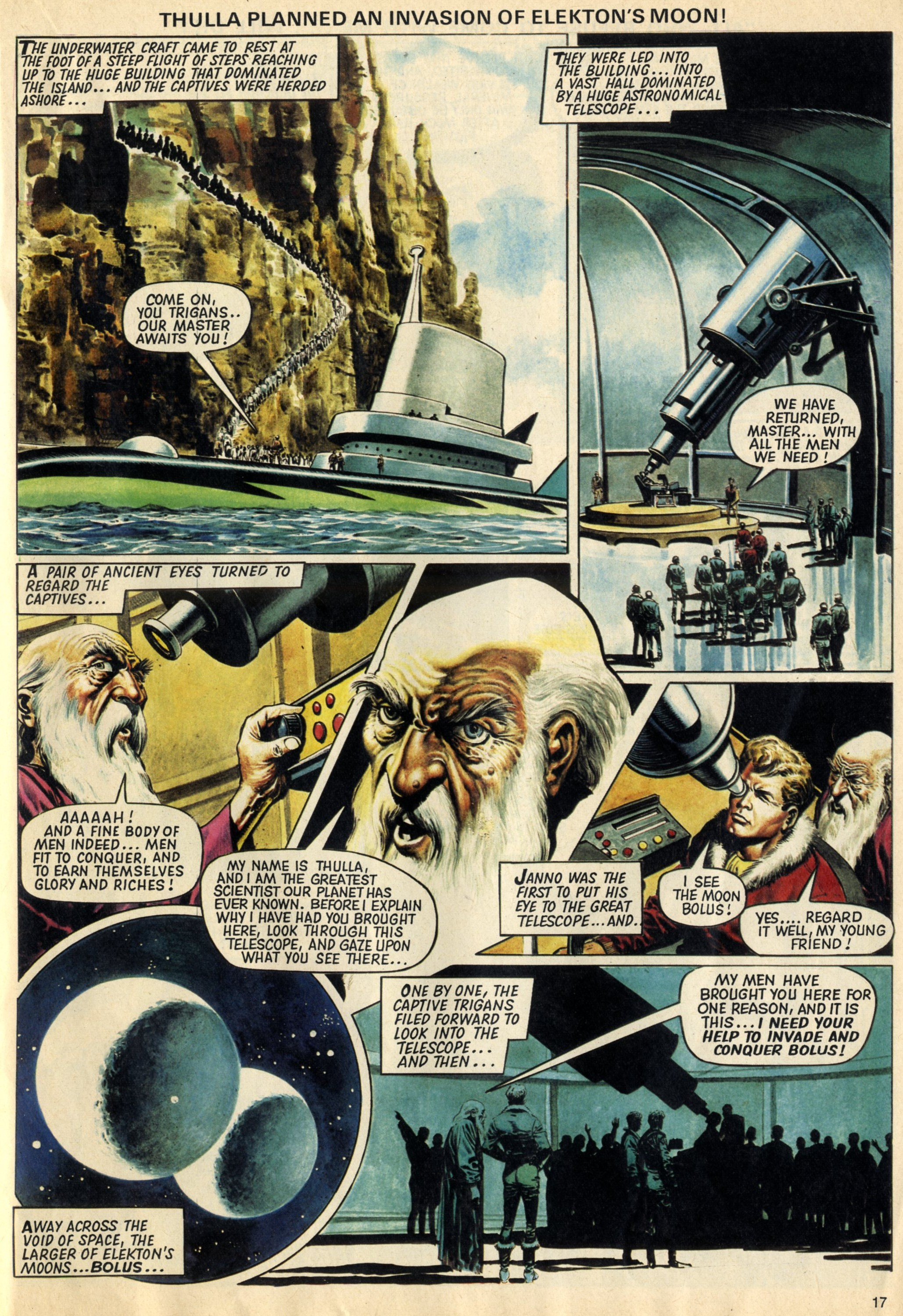 The Trigan Empire (reprinted from Look and Learn, 1968): Mike Butterworth (writer), Don Lawrence (artist)