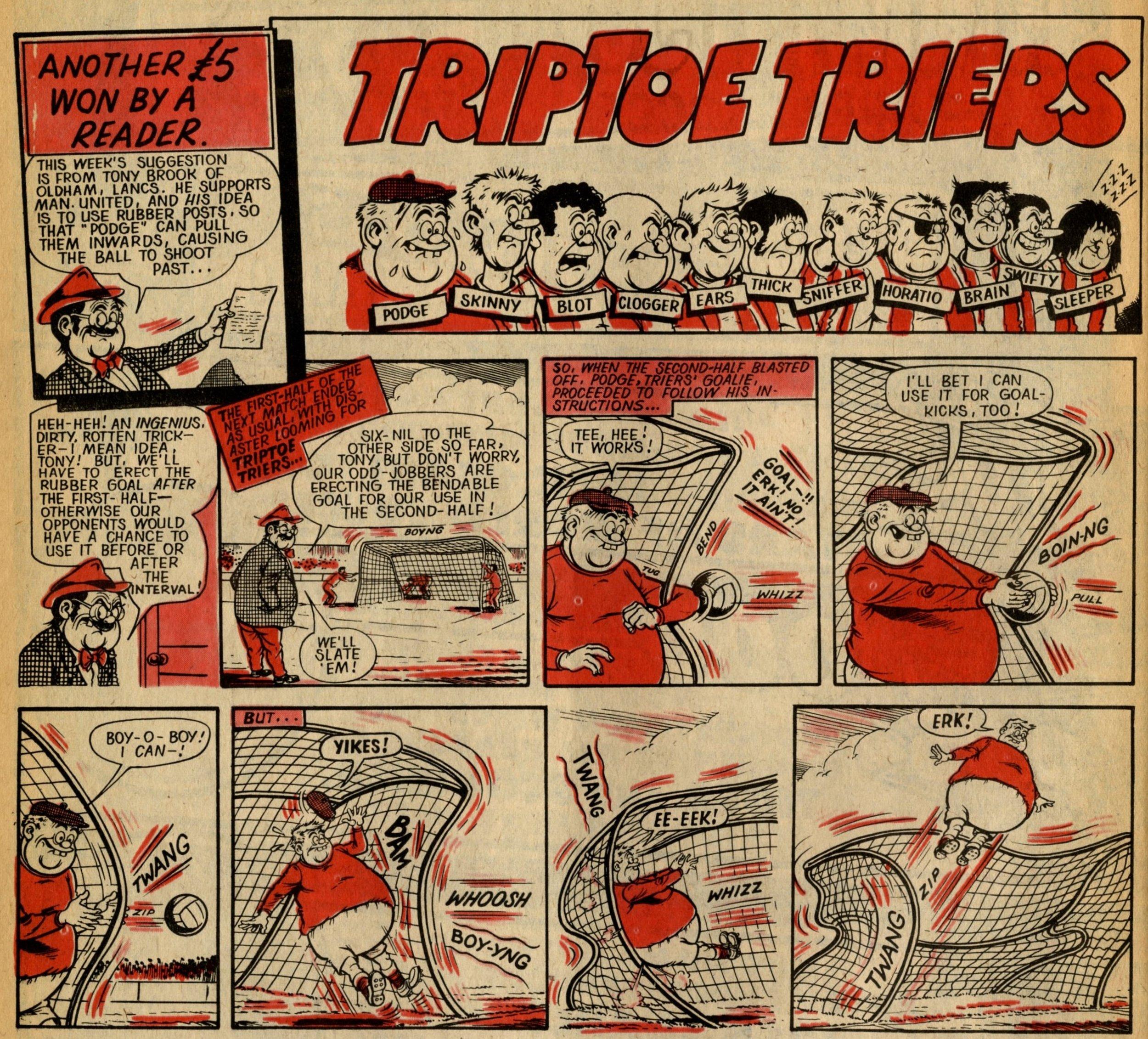 Triptoe Triers: Ken Reid (artist)