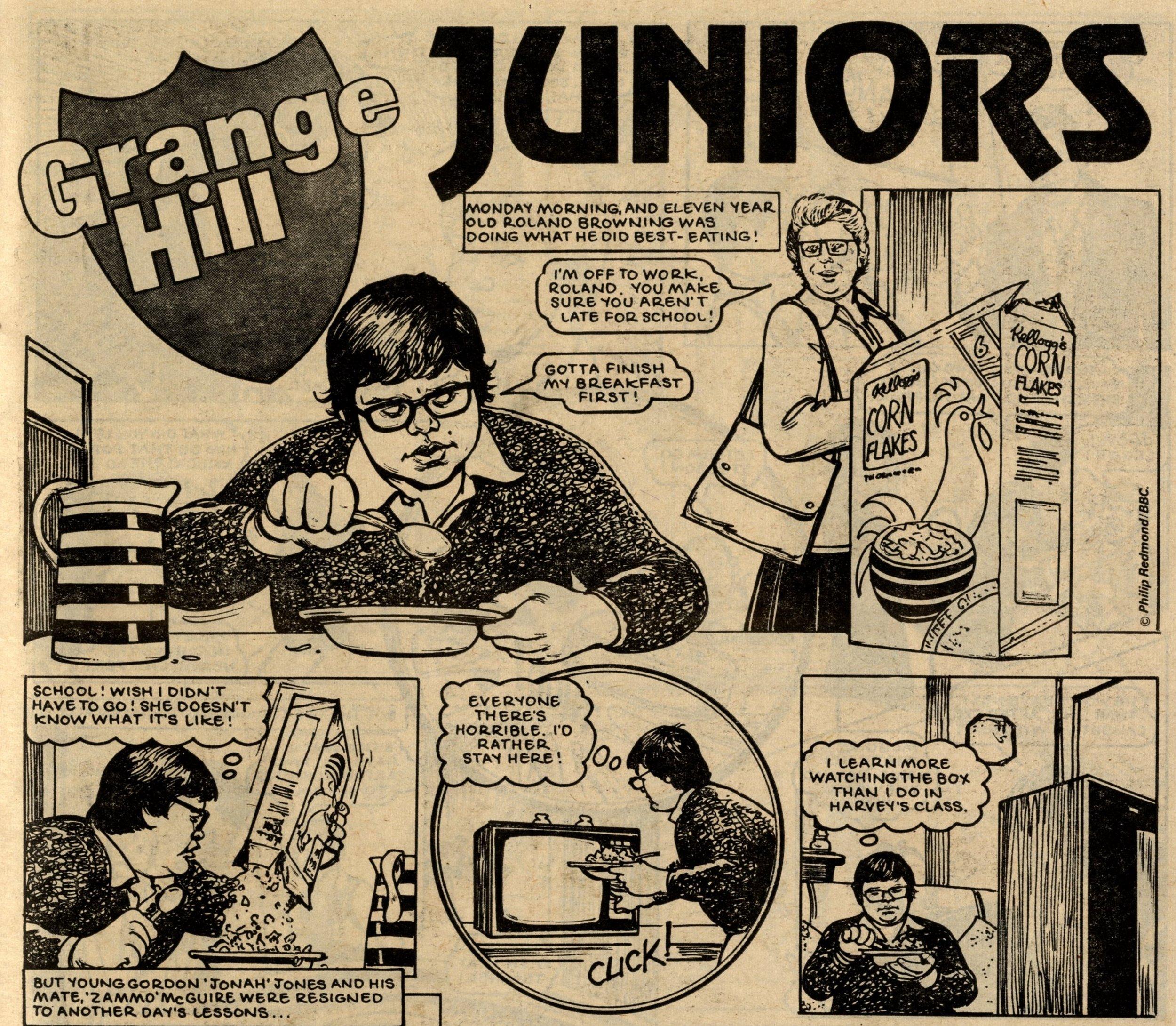 Grange Hill Juniors: Brian Delaney (artist)
